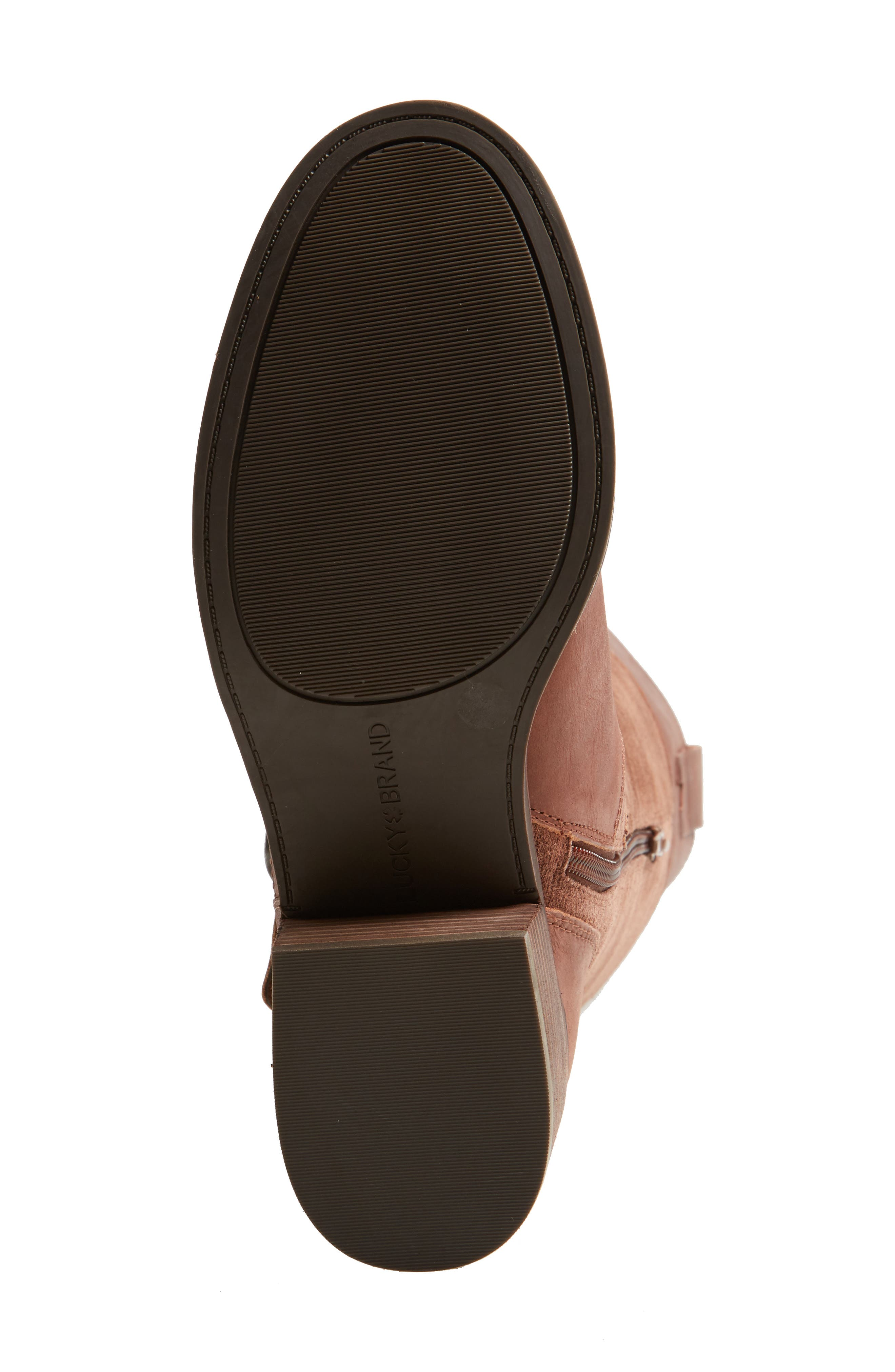 Alternate Image 6  - Lucky Brand Kailan Ankle Strap Tall Boot (Women)