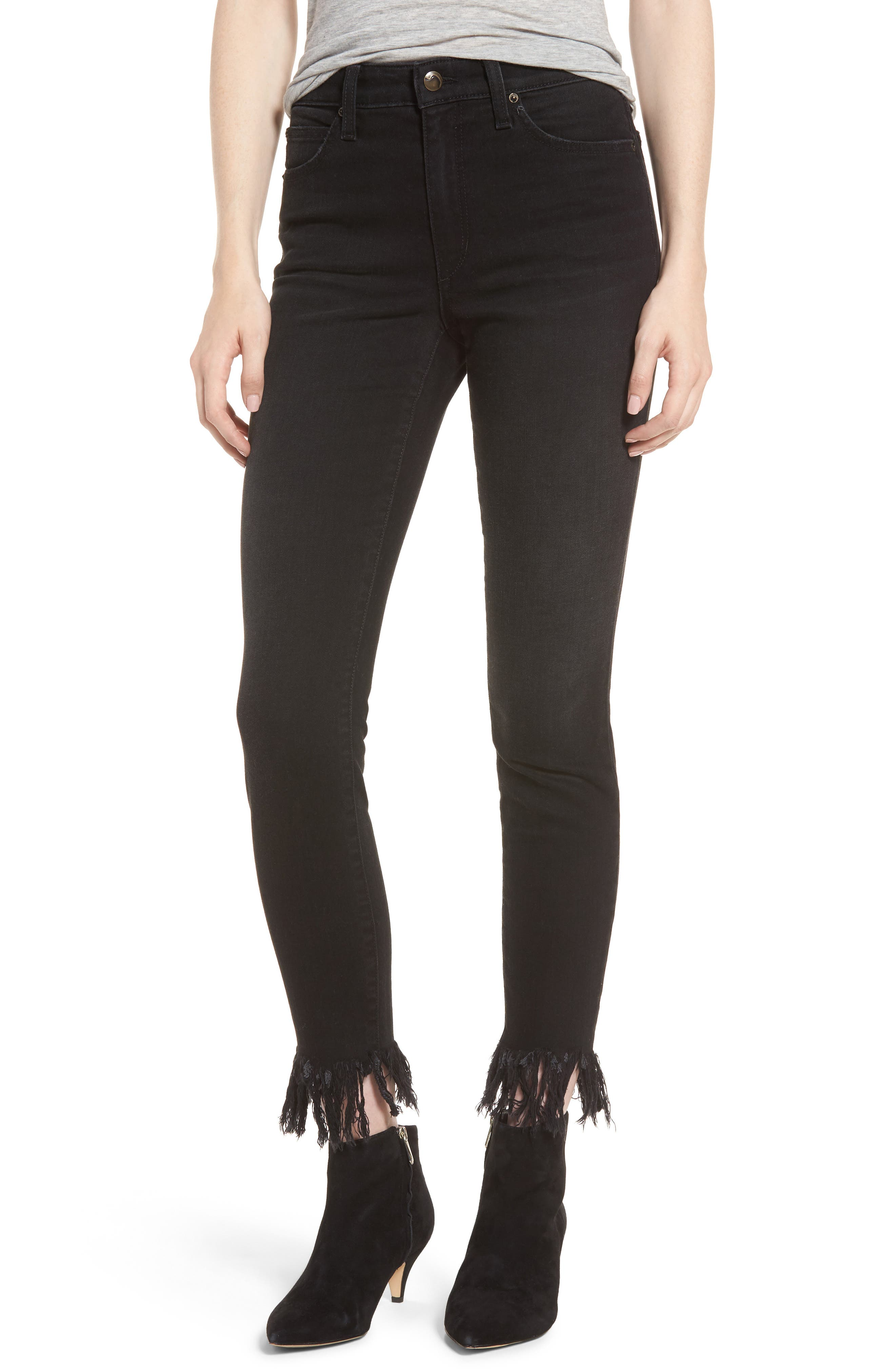 Charlie High Waist Ankle Skinny Jeans,                         Main,                         color, Shellie