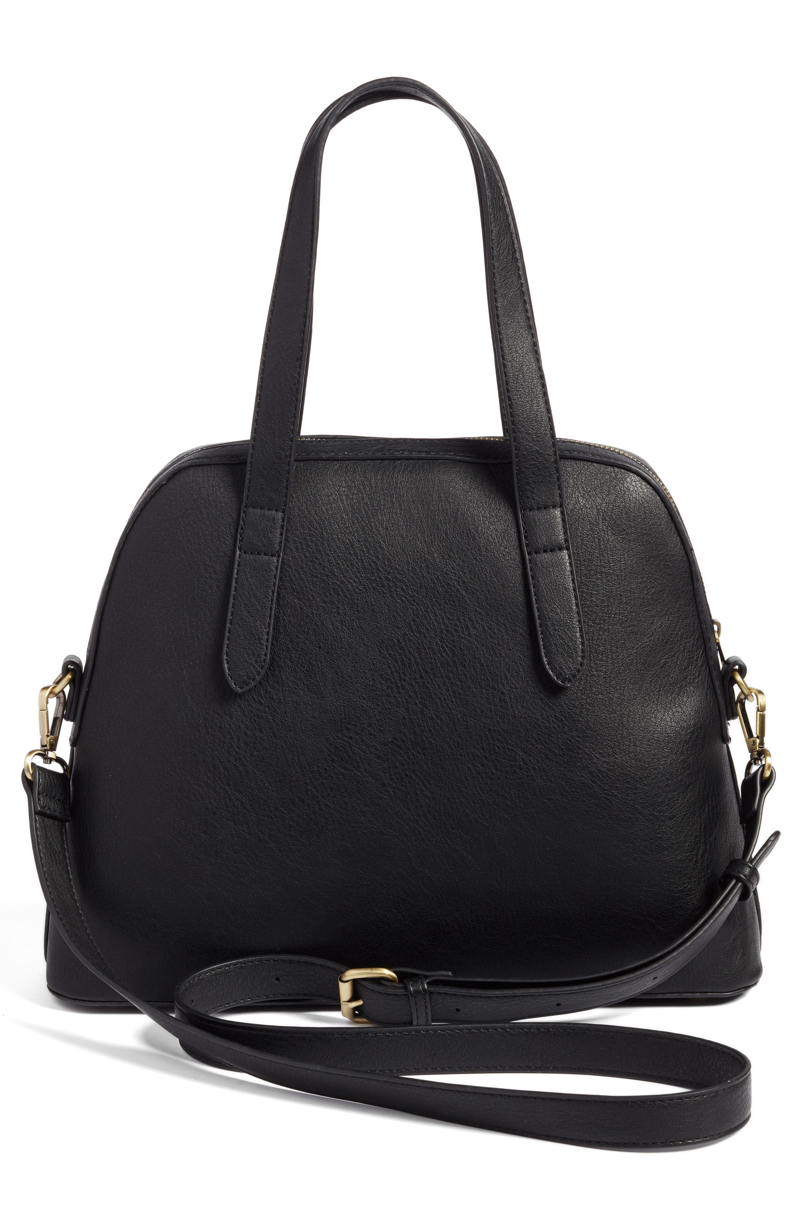 Alternate Image 2  - Sole Society Christie Faux Leather Satchel