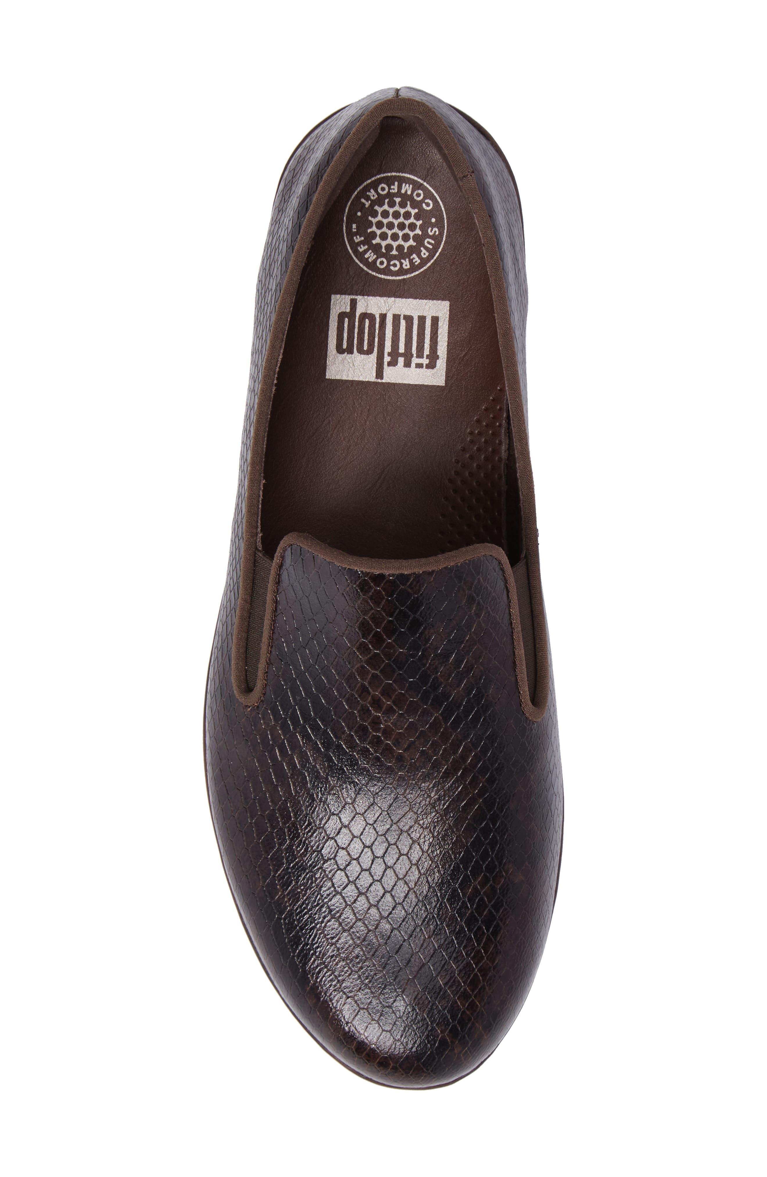 Alternate Image 5  - FitFlop Superskate Slip-On Loafer (Women)