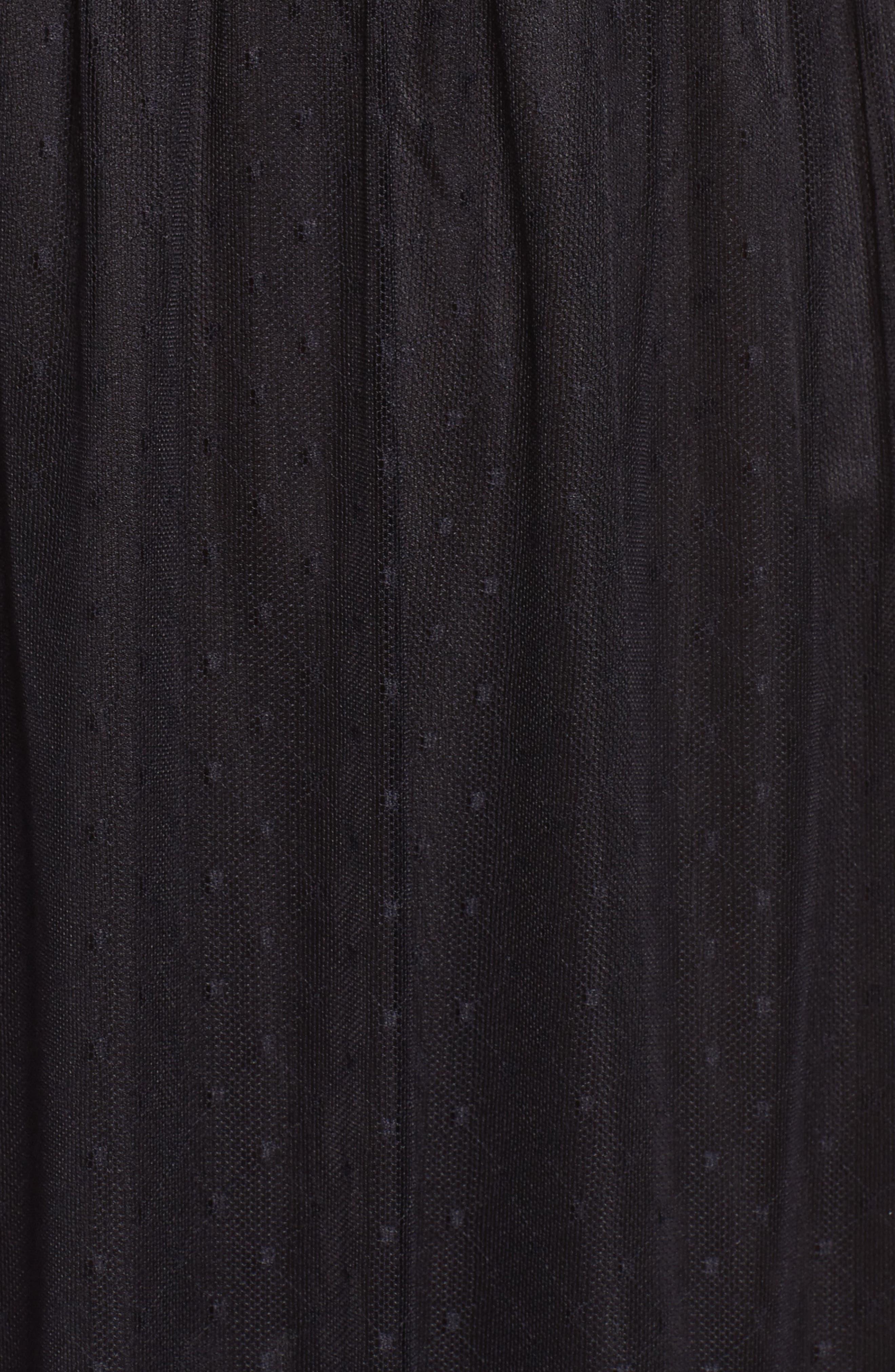 Alternate Image 5  - NSR Lace Midi Dress