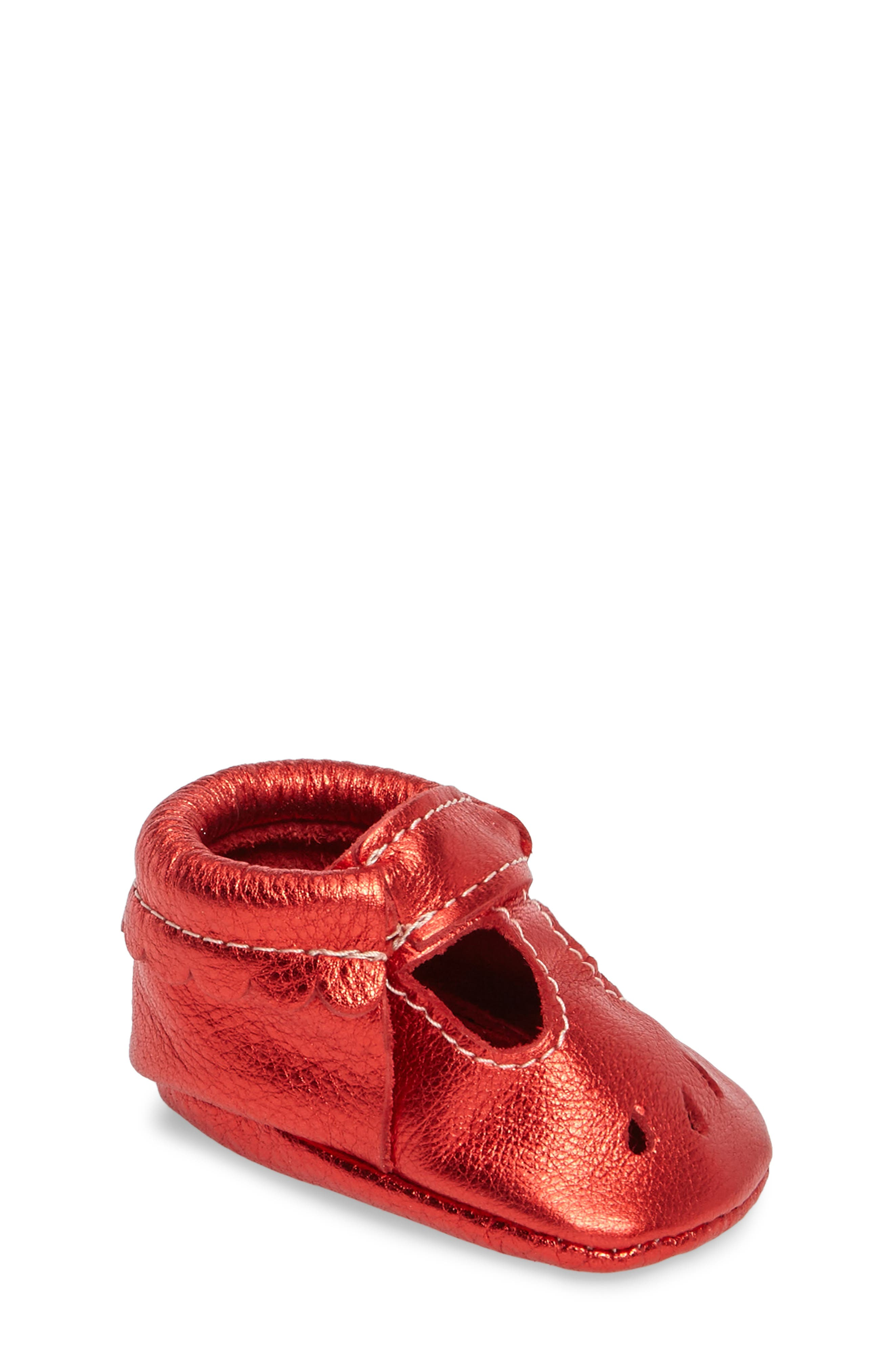 Freshly Picked Perforated Mary Jane Moccasin (Baby & Walker)