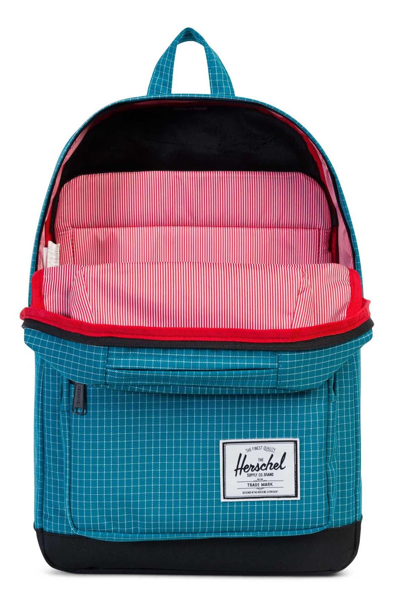 Pop Quiz Backpack,                             Alternate thumbnail 3, color,                             Ocean Grid