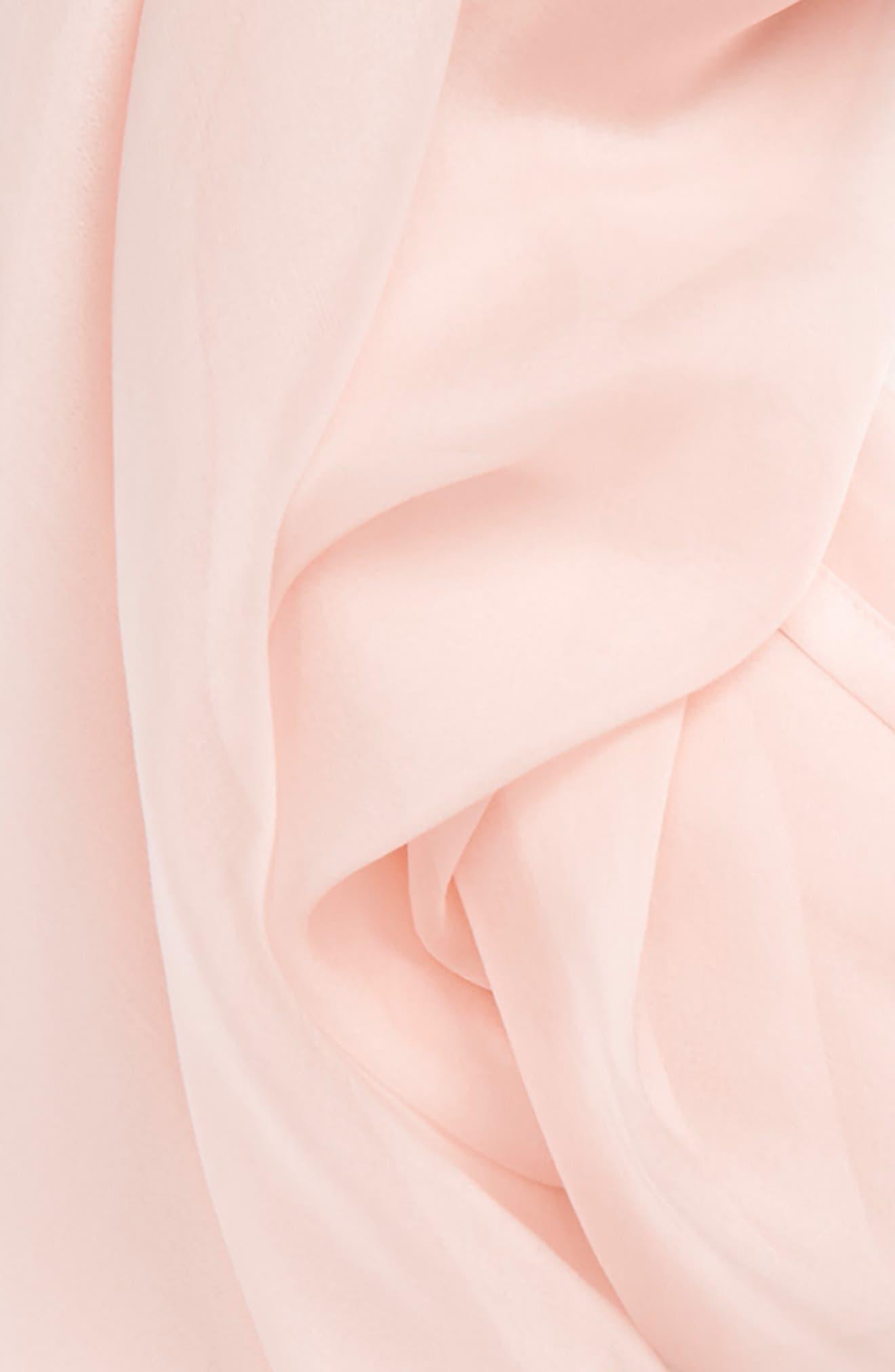 Alternate Image 3  - Nordstrom Satin Border Silk Chiffon Scarf