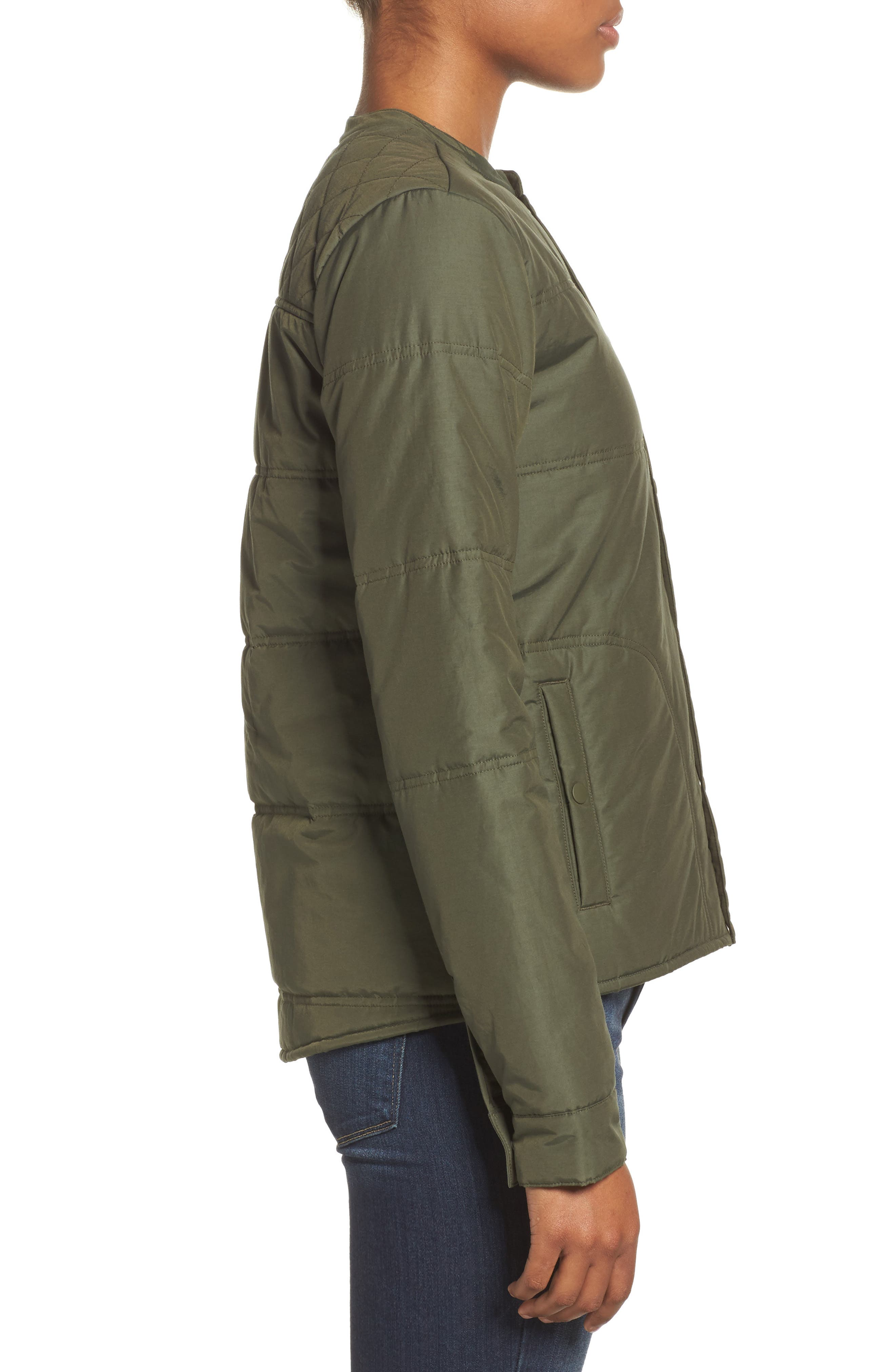 Arliss Insulator Jacket,                             Alternate thumbnail 3, color,                             Forest Night