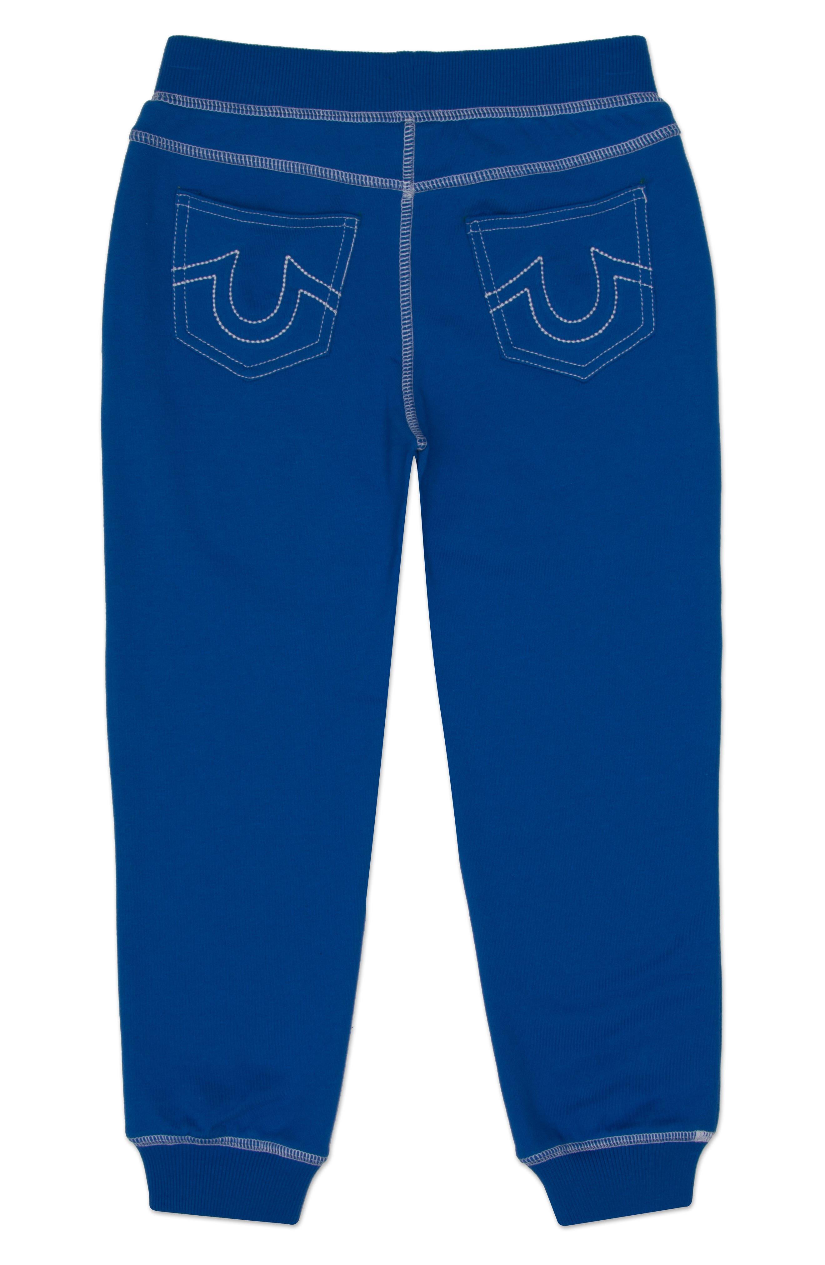 Alternate Image 2  - True Religion Brand Jeans Shoestring Sweatpants (Big Boys)