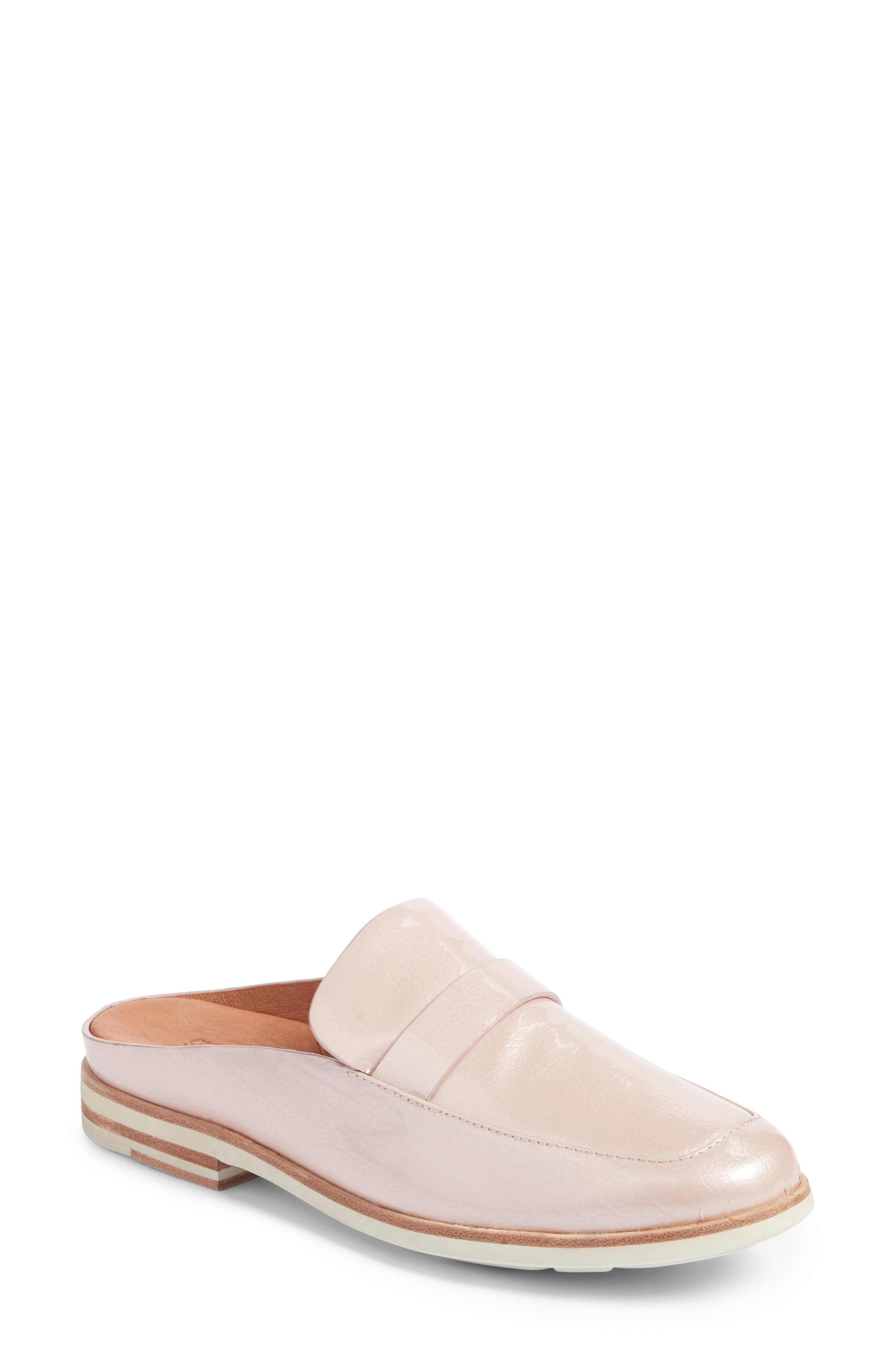 by Kenneth Cole Everett Mule,                             Main thumbnail 1, color,                             Rose Patent Leather
