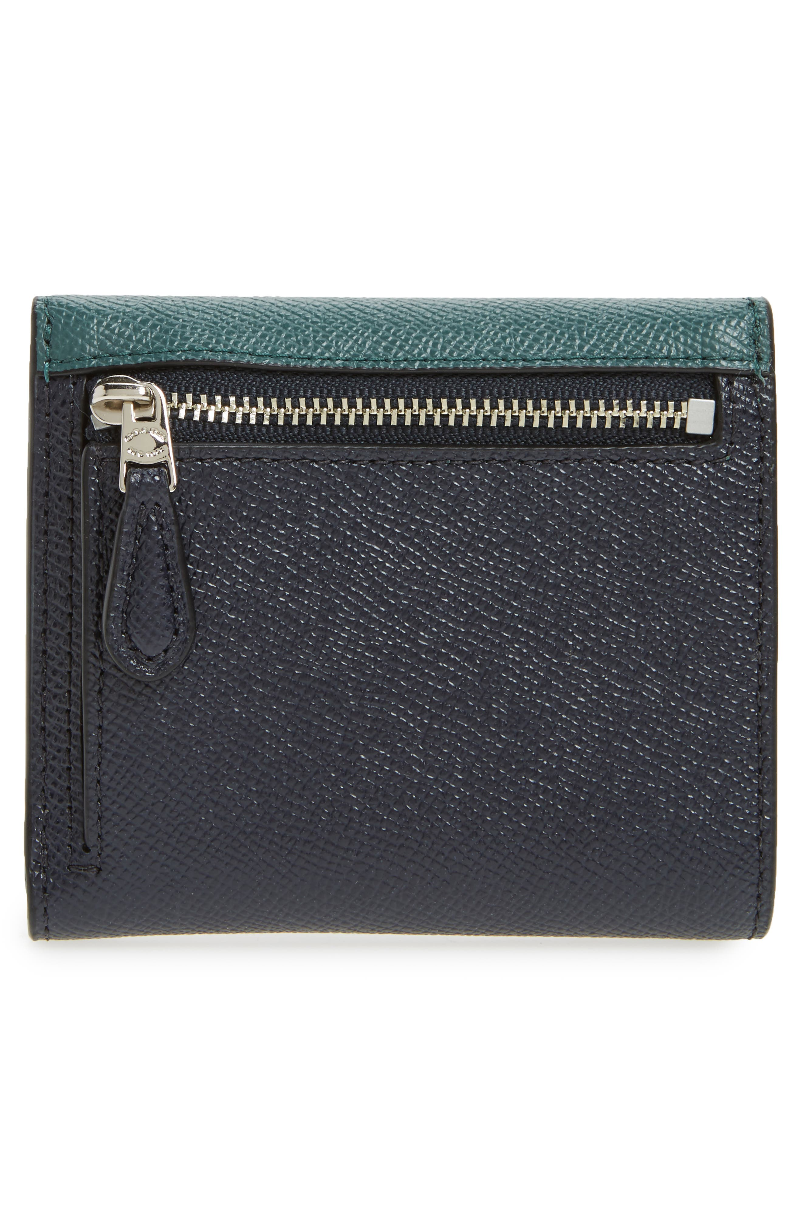 Alternate Image 3  - COACH Small Colorblock Calfskin Leather Wallet