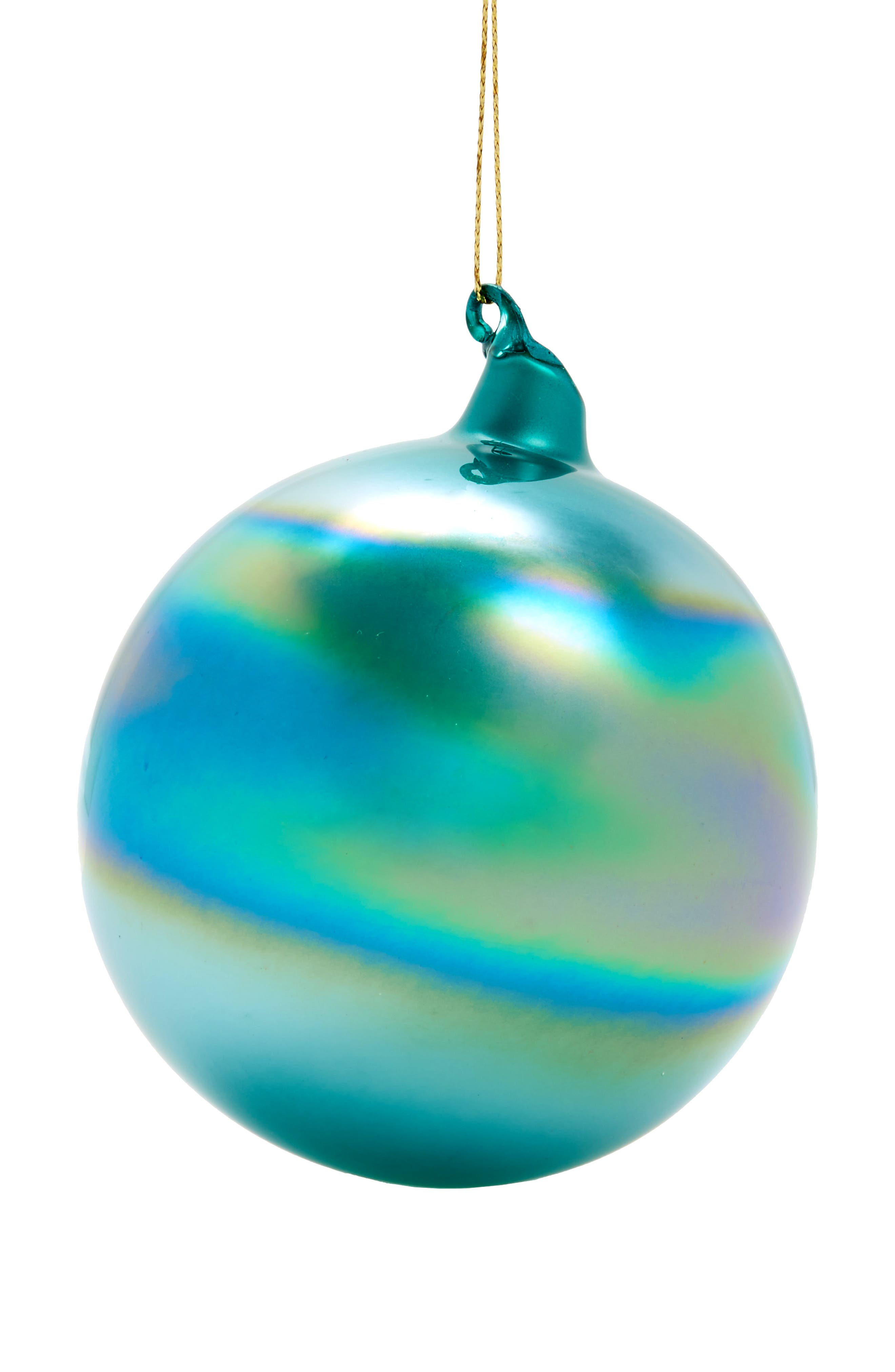 Winward Bubblegum Set of 3 Glass Ball Ornaments