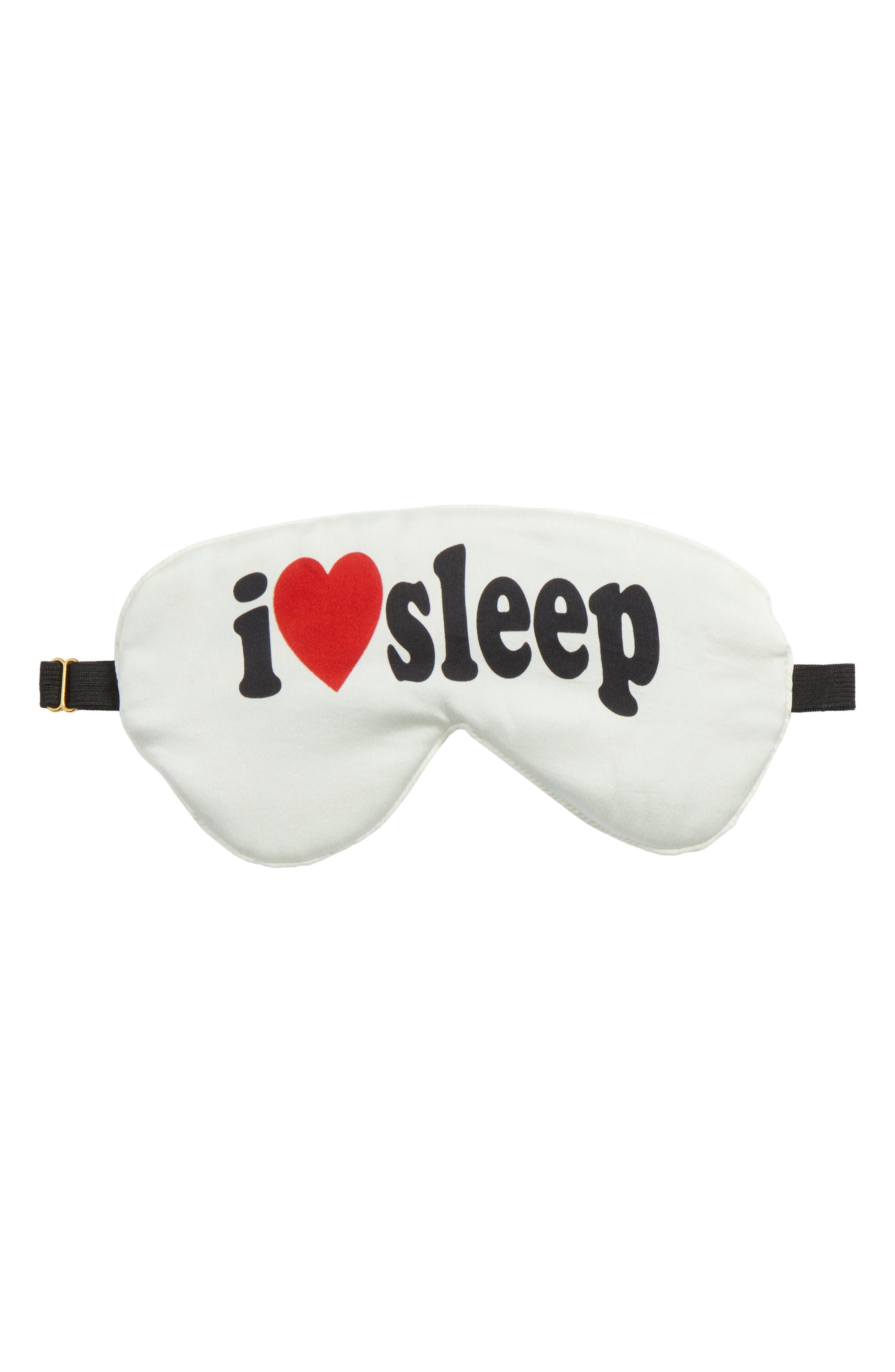 Chaser I Heart Sleep Sleep Mask