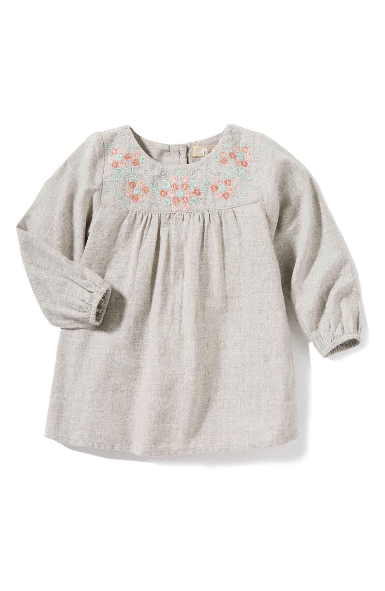 Alternate Image 1 Selected - Peek Renee Dress (Baby Girls)