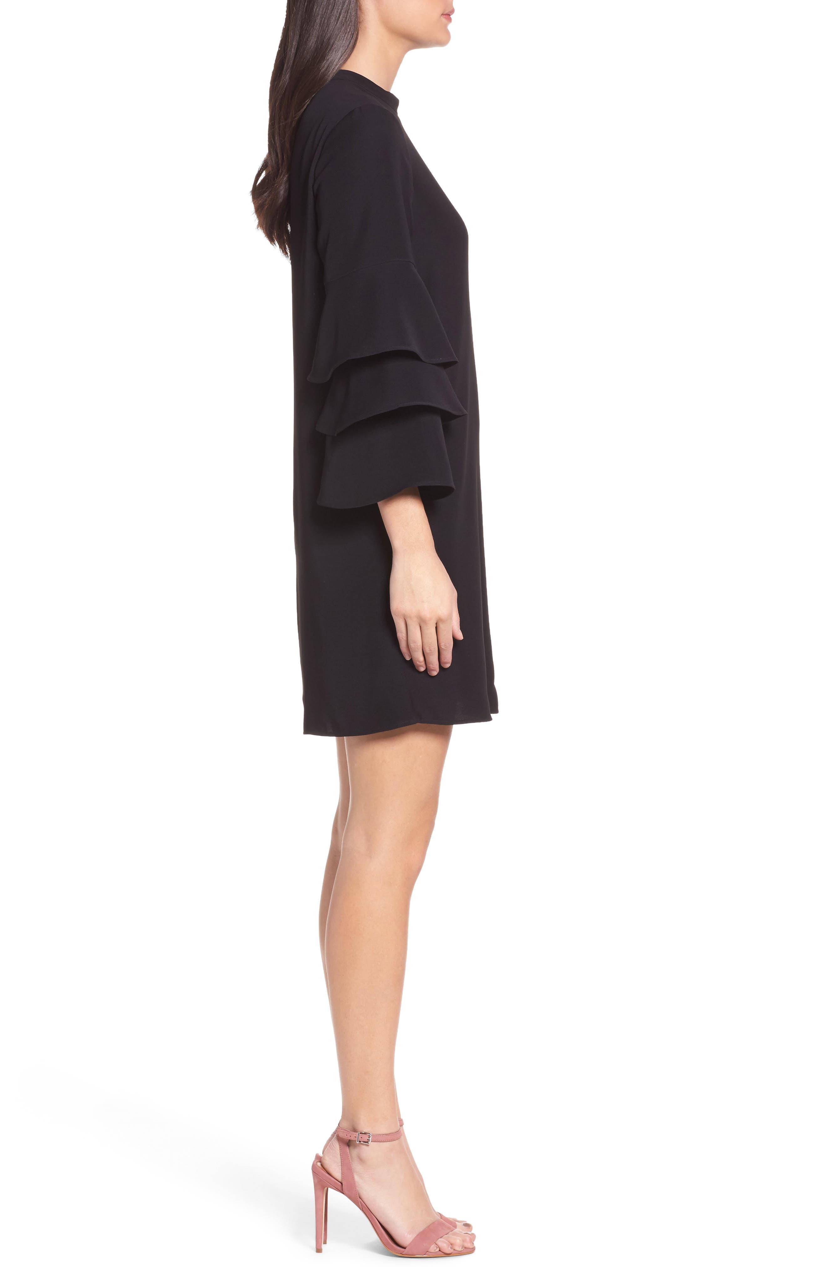 Alternate Image 3  - Chelsea28 Ruffle Sleeve Shift Dress
