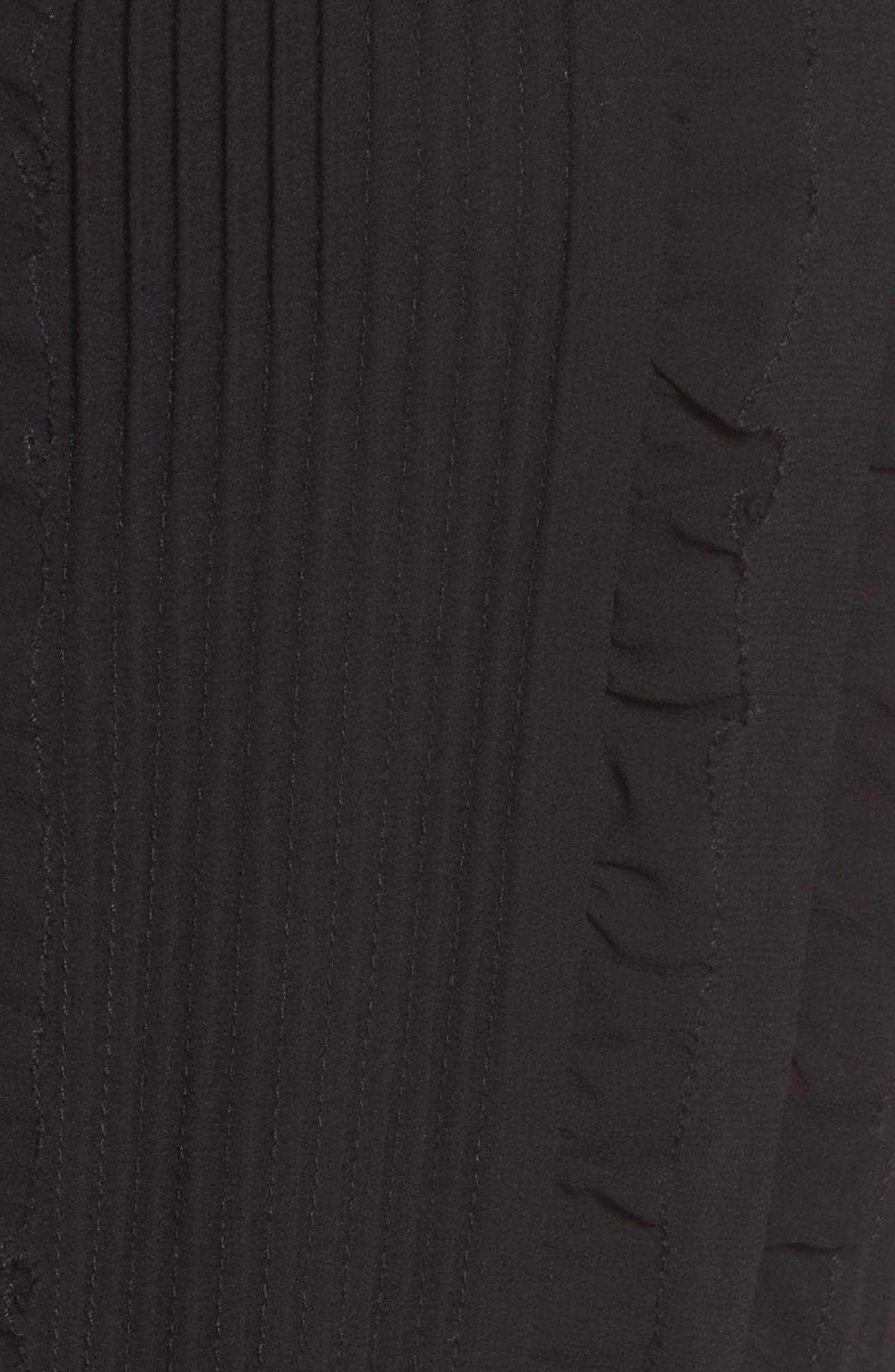 Ami Maxi Dress,                             Alternate thumbnail 5, color,                             Black