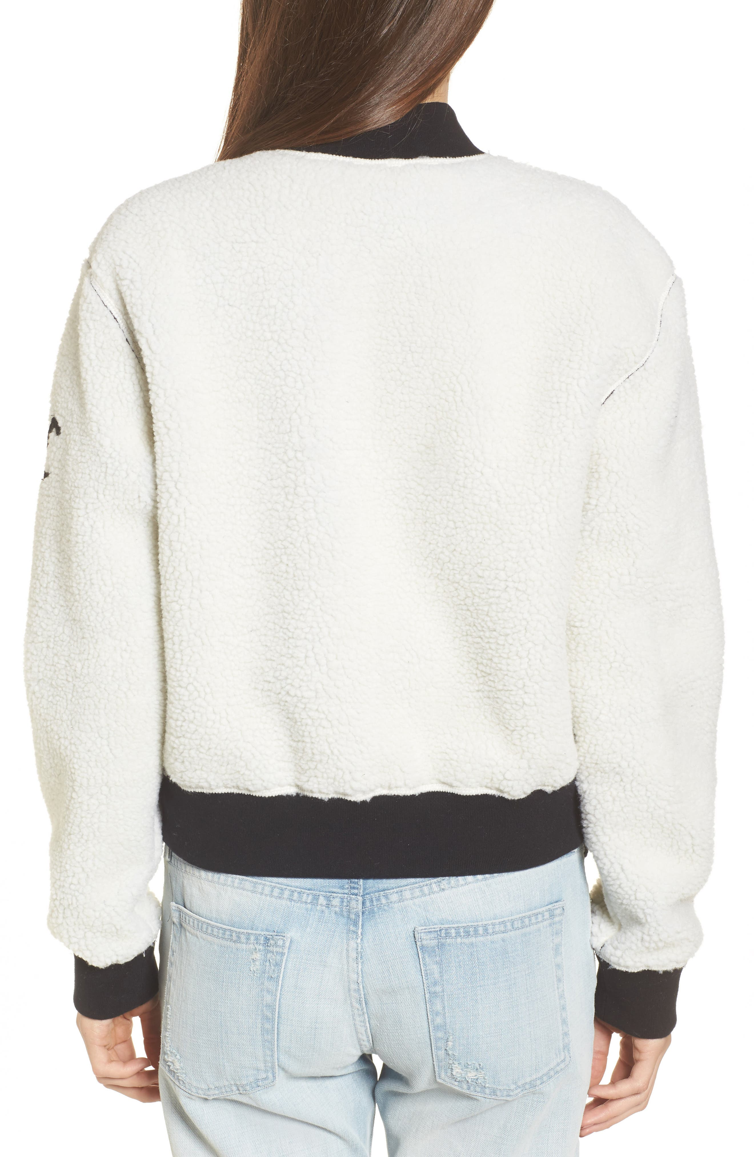 Alternate Image 2  - Juicy Couture Reversible Track Jacket