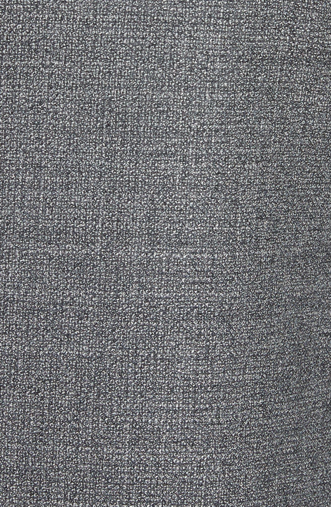 Kei Classic Fit Wool Blazer,                             Alternate thumbnail 5, color,                             Grey