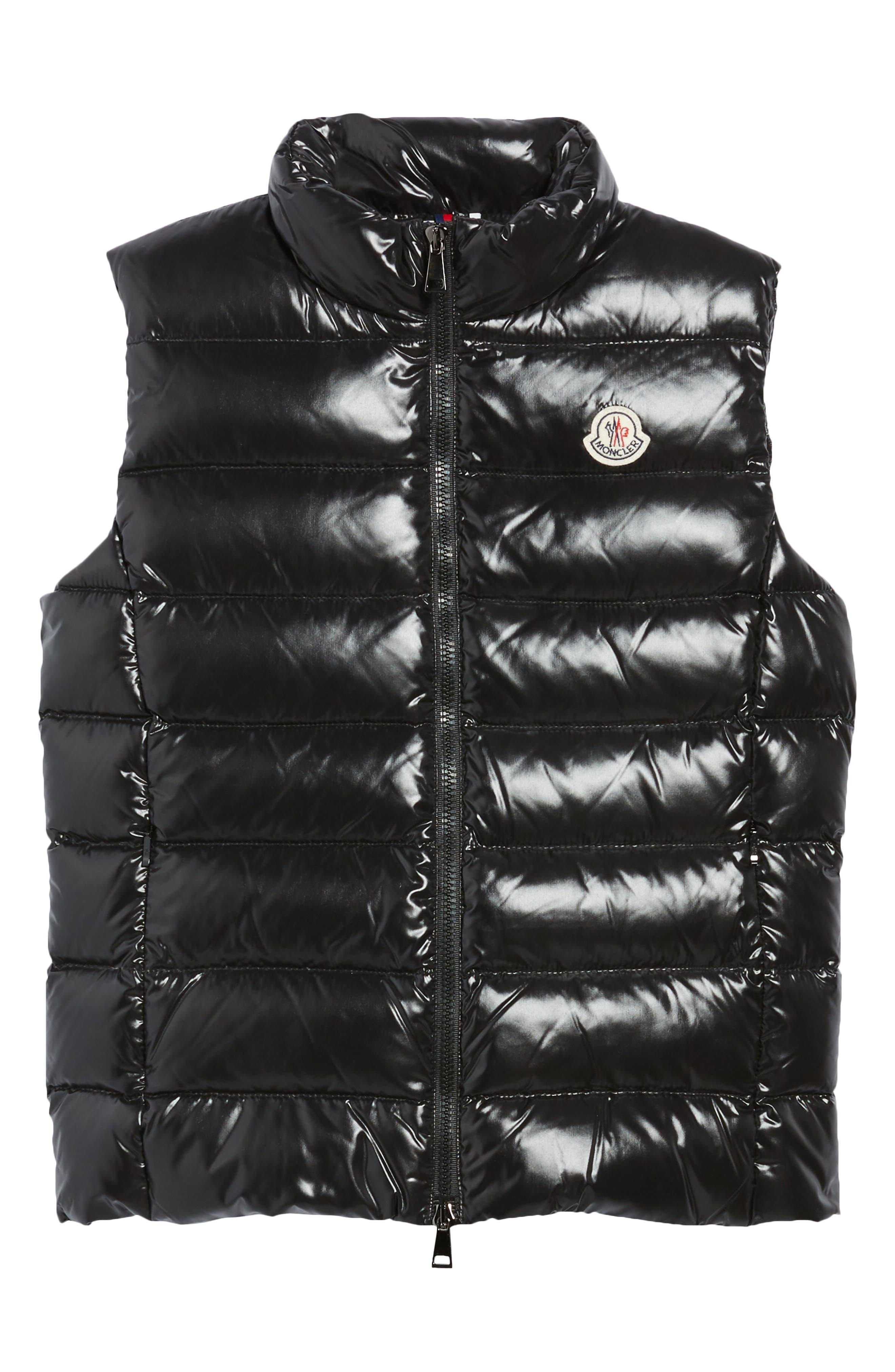 Alternate Image 7  - Moncler Ghany Water Resistant Shiny Nylon Down Puffer Vest