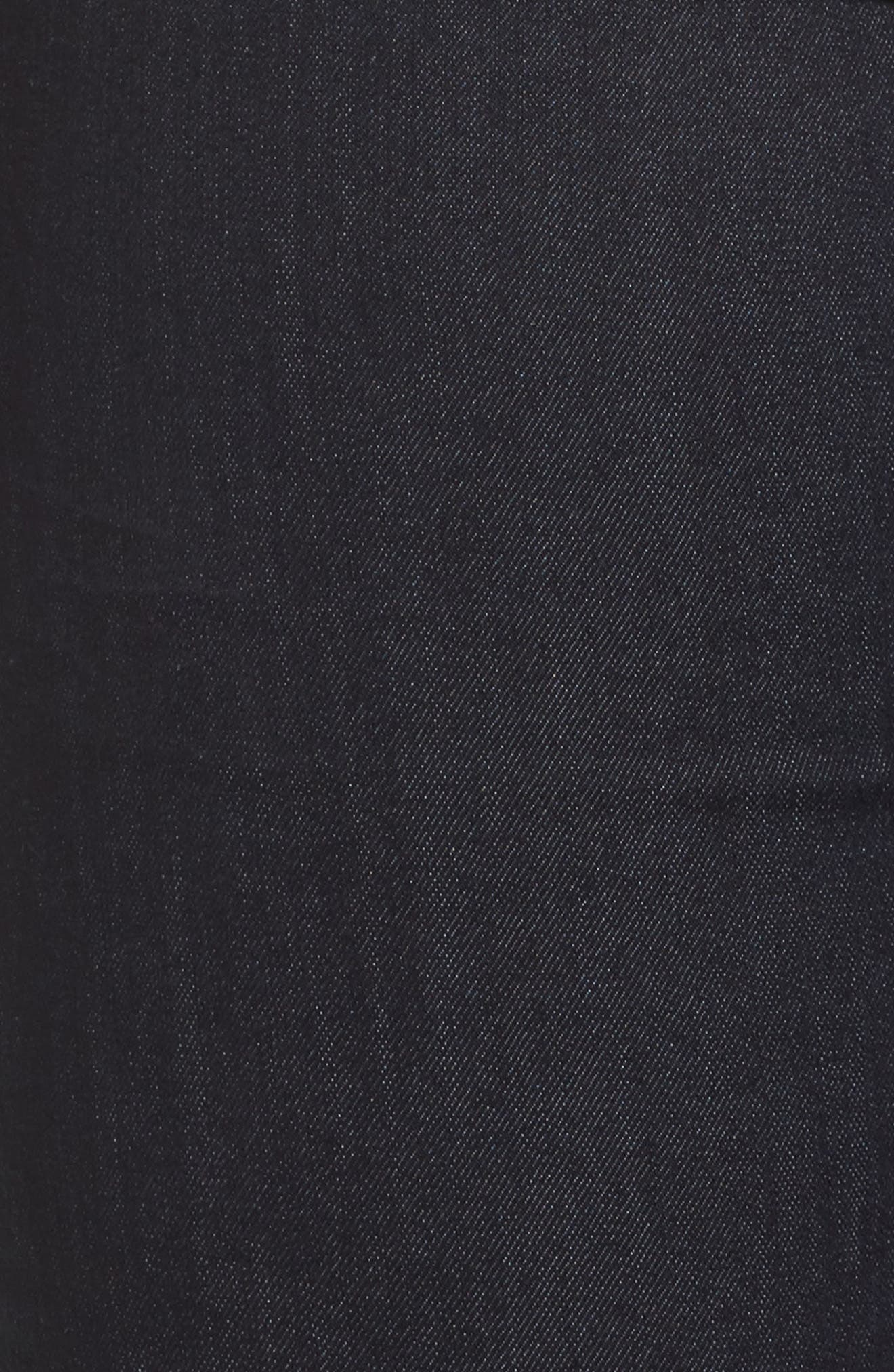 Ab-solution Straight Leg Jeans,                             Alternate thumbnail 6, color,                             Indigo
