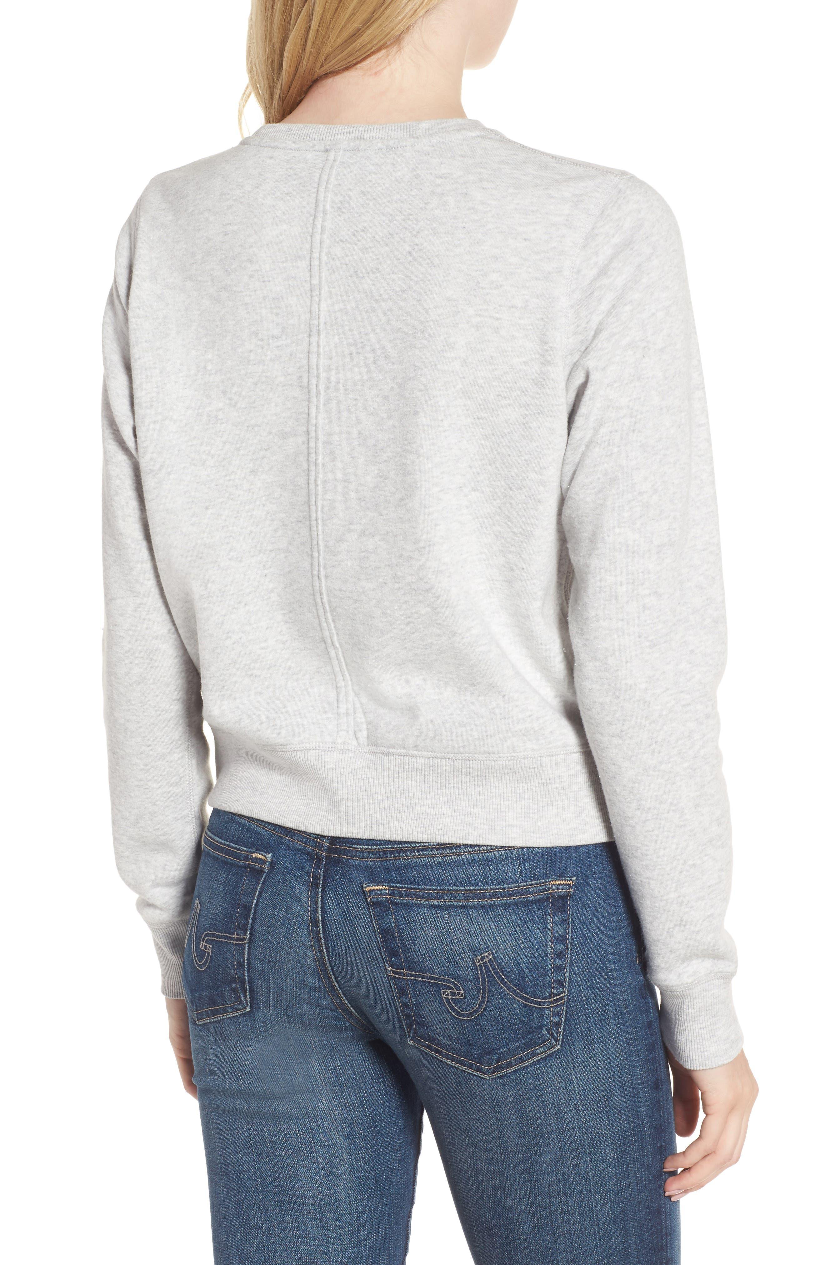 Alternate Image 2  - Rebecca Minkoff Kassidy Tour Sweatshirt