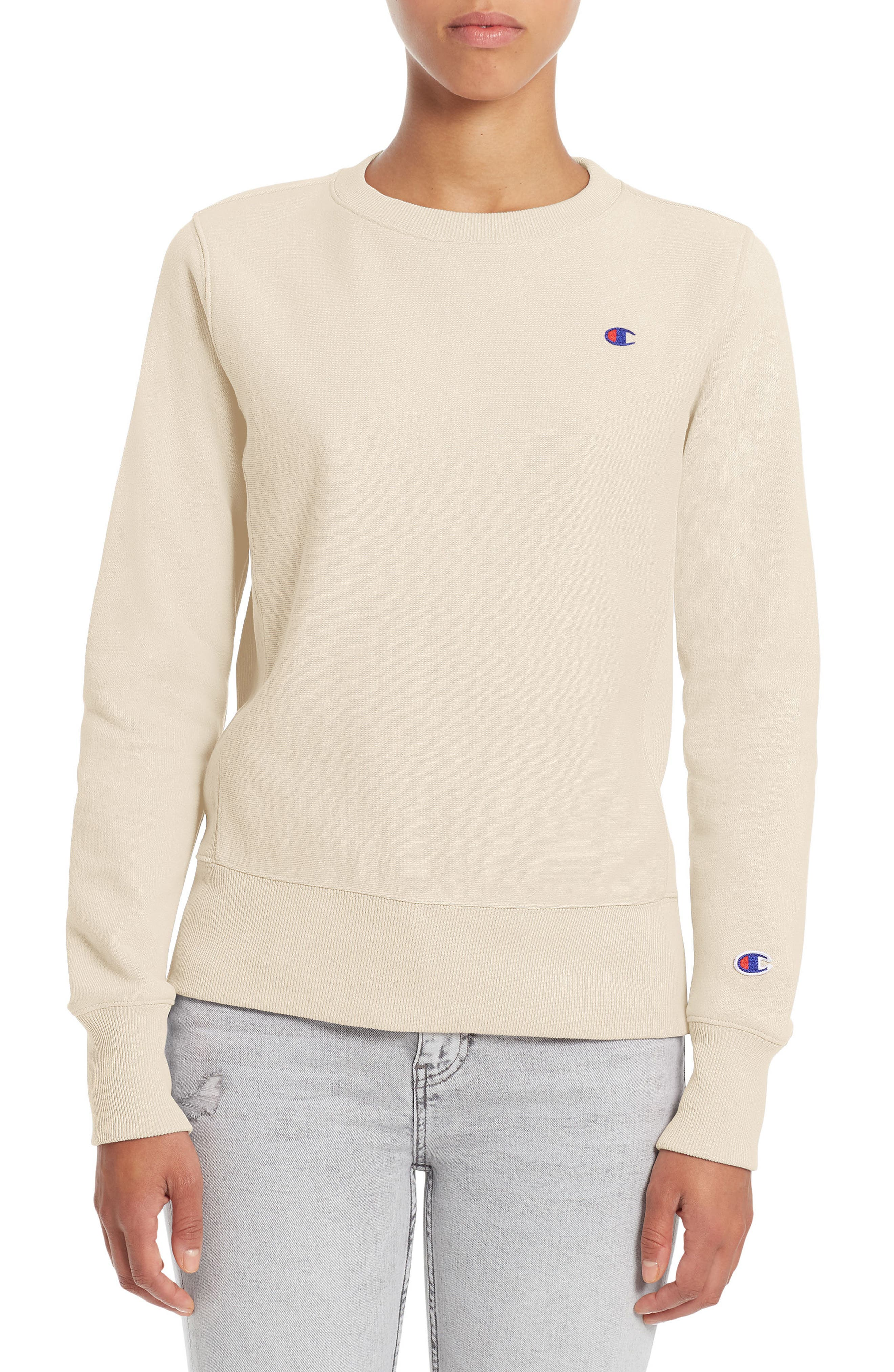 Champion Reverse Weave® French Terry Crewneck Sweatshirt