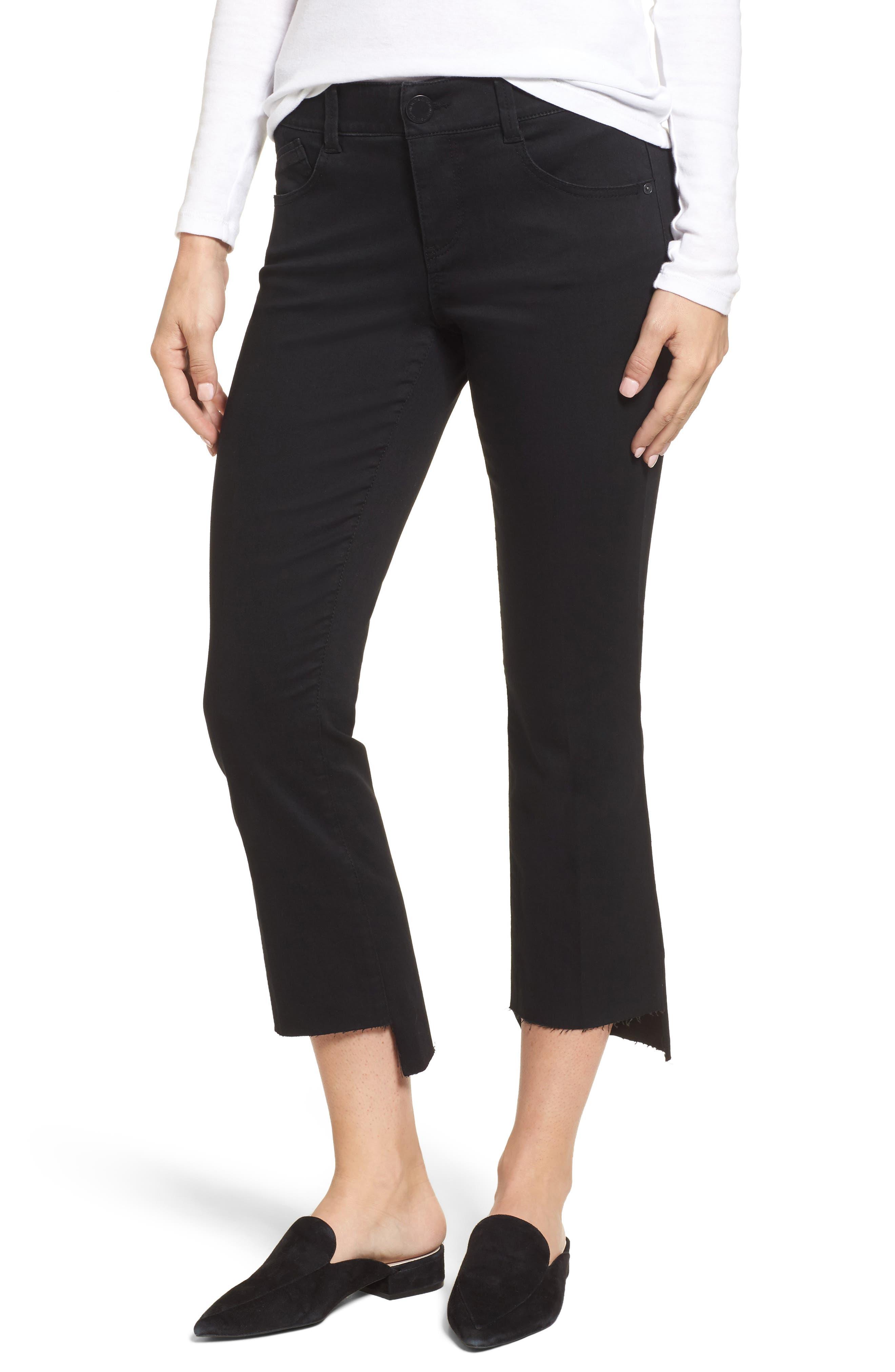 Ab-solution Upstart Kick Flare Jeans,                         Main,                         color, Black
