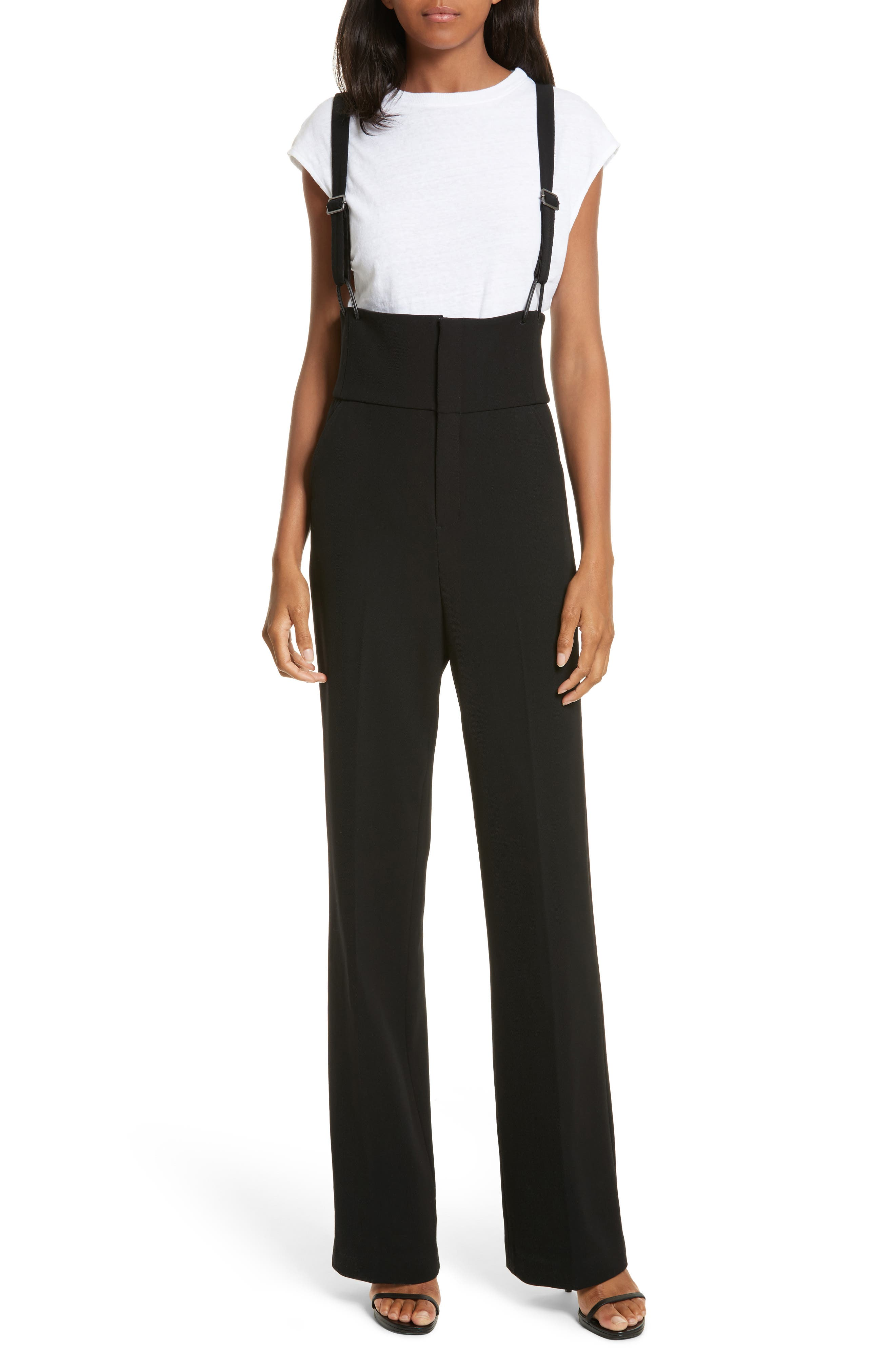 FRAME Stretch Wool Overall Trousers