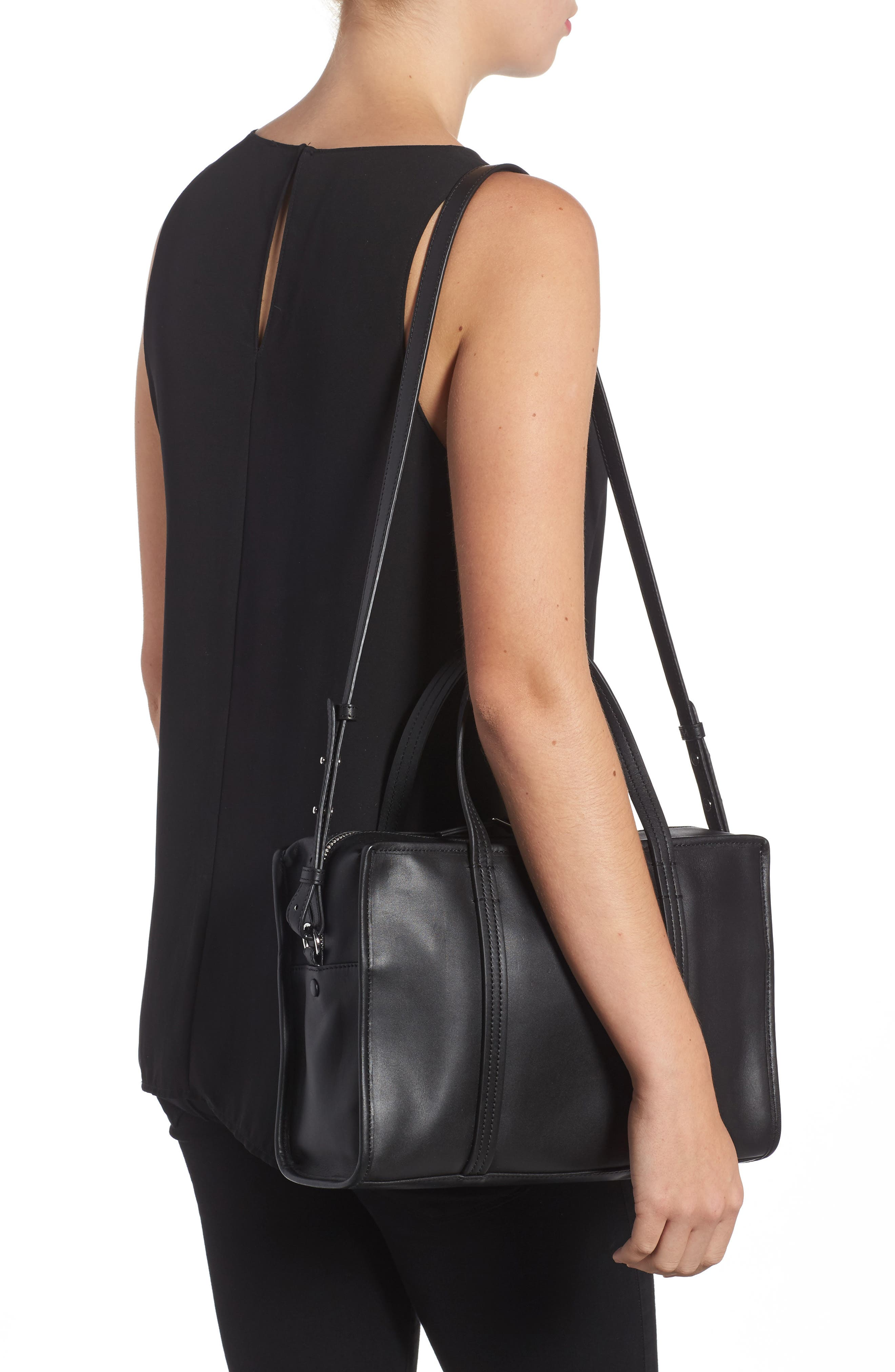 Alternate Image 2  - Steven Alan Large Simone Calfskin Leather Satchel