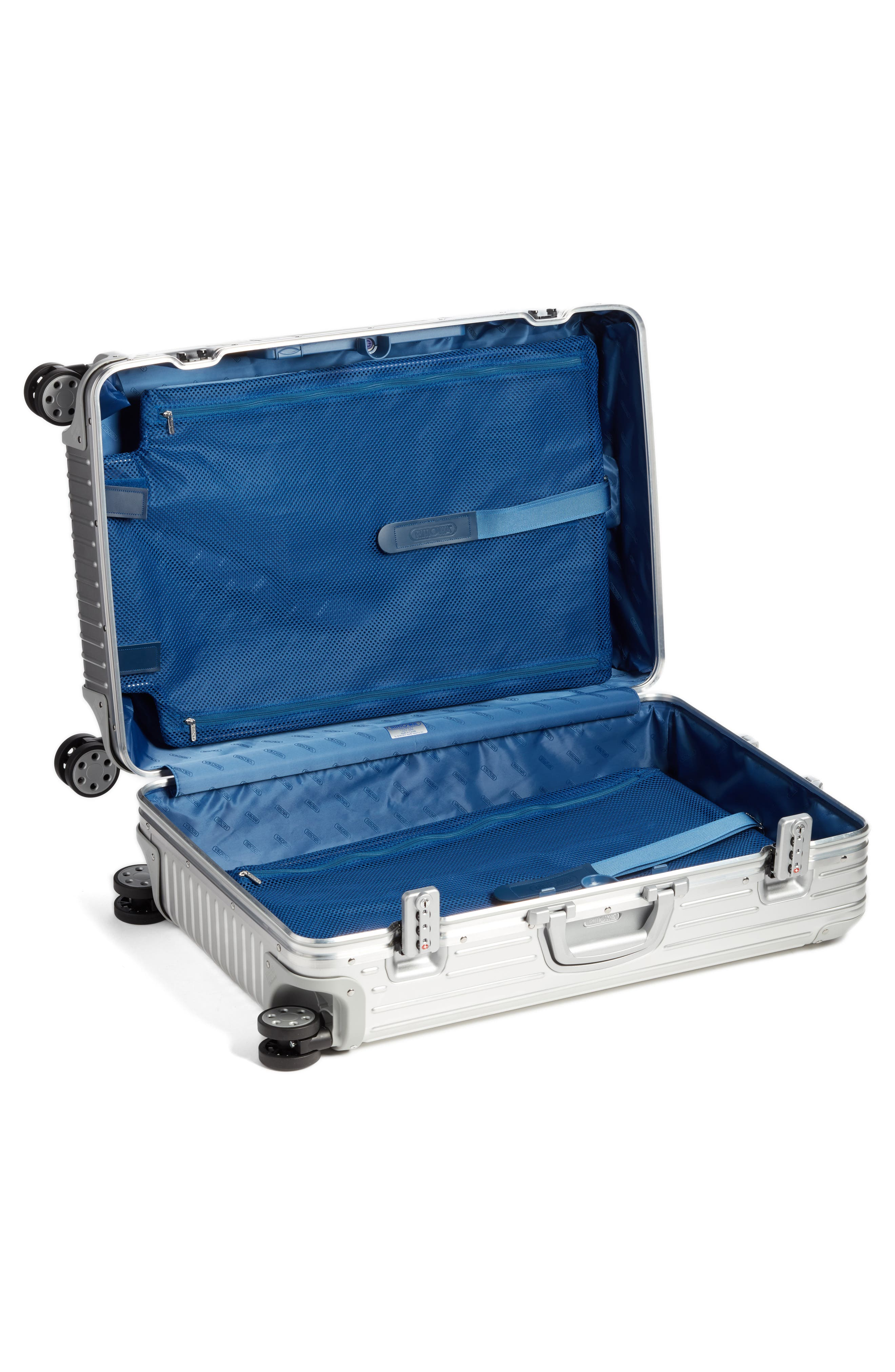 Topas 29-Inch Sport Multiwheel<sup>®</sup> Aluminum Packing Case,                             Alternate thumbnail 4, color,                             Silver