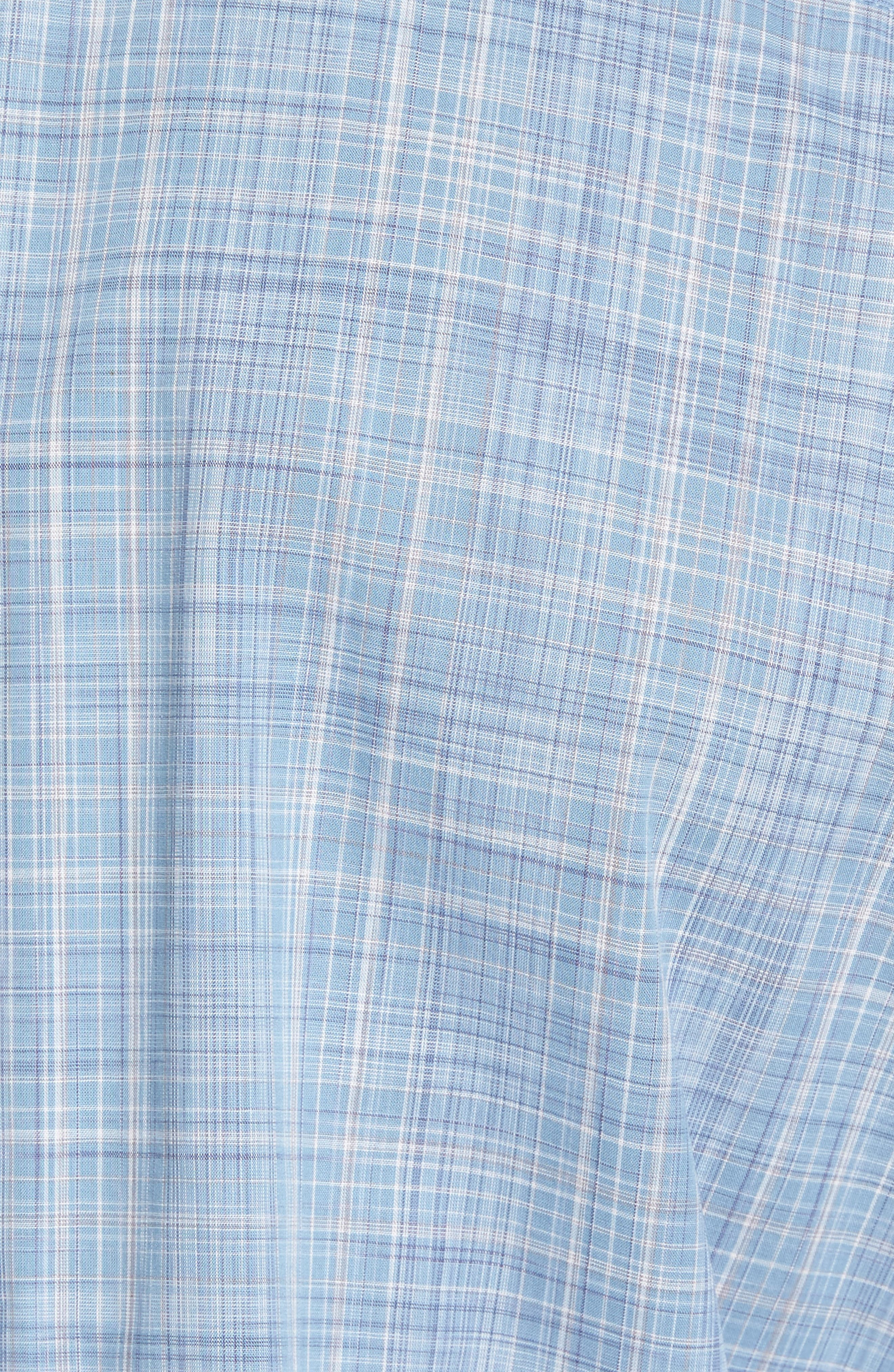 Alternate Image 5  - Zachary Prell Clark Slim Fit Plaid Sport Shirt