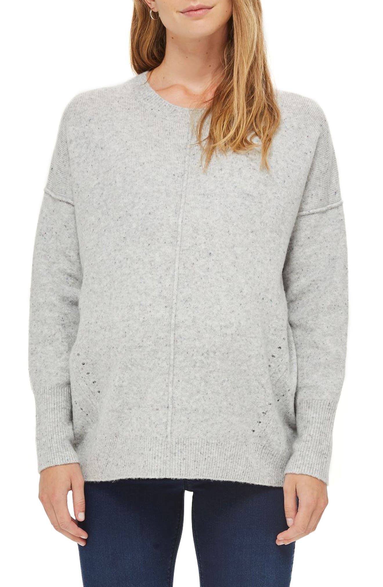 Topshop Pointelle Maternity Sweater
