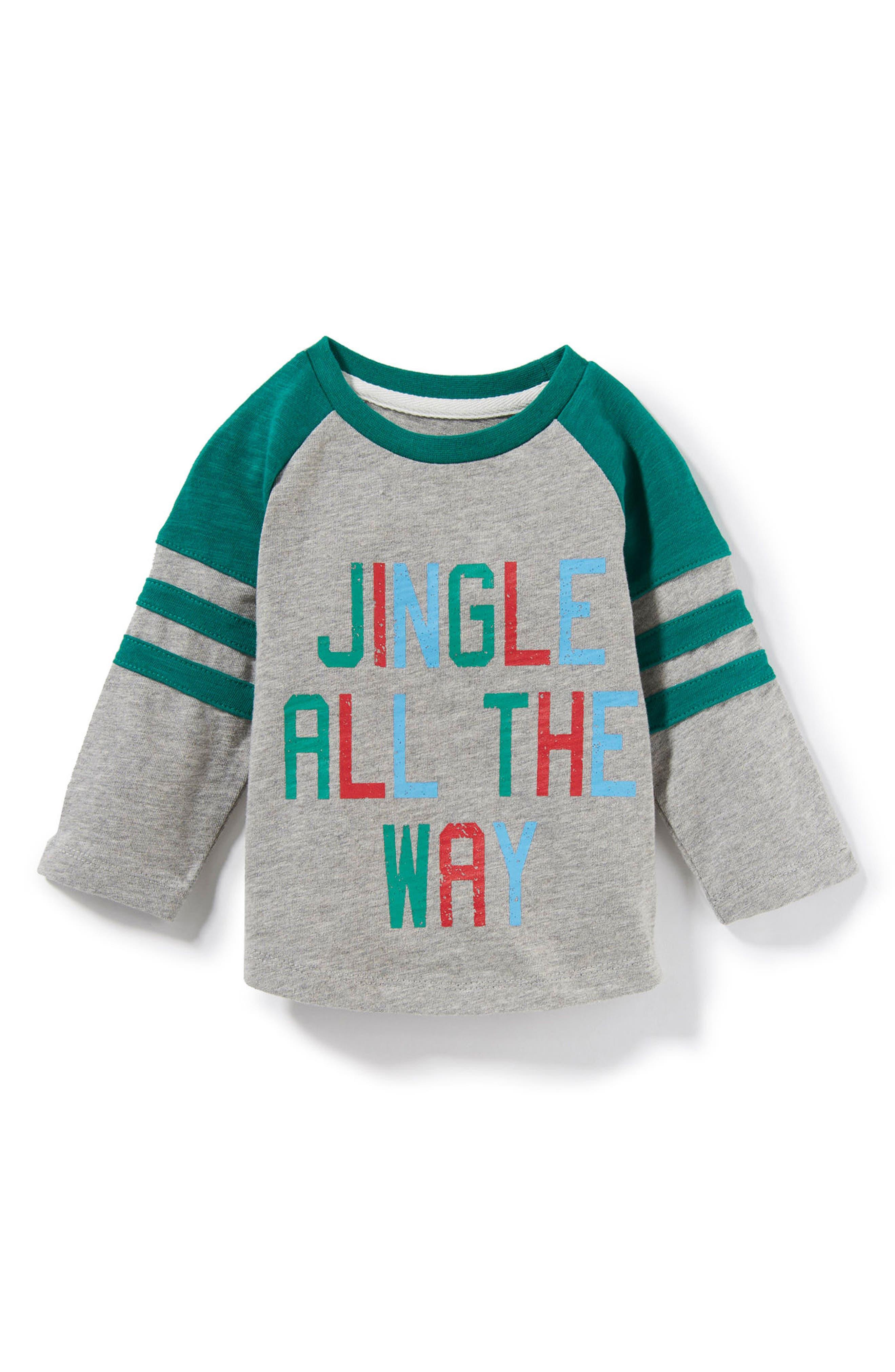 Peek Jingle all the Way T-Shirt (Baby Boys)