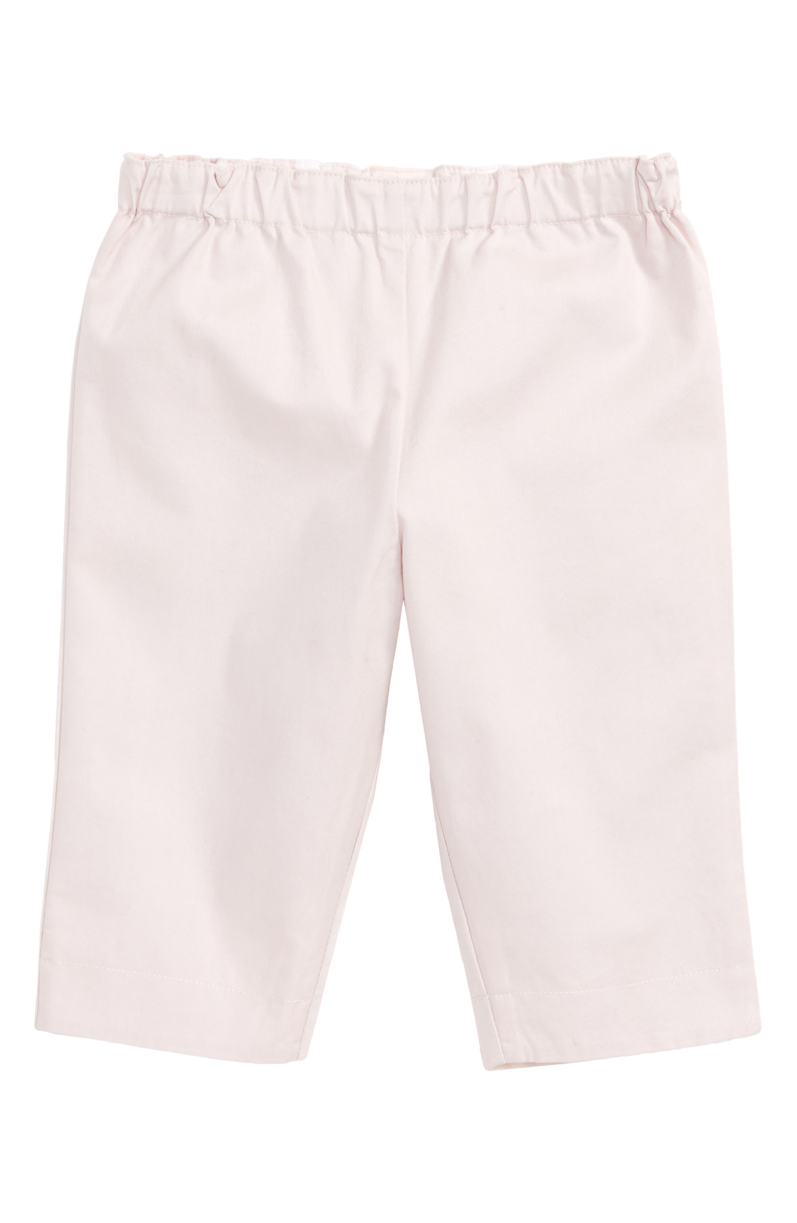 Main Image - Burberry Darcy Pants (Baby Girls)