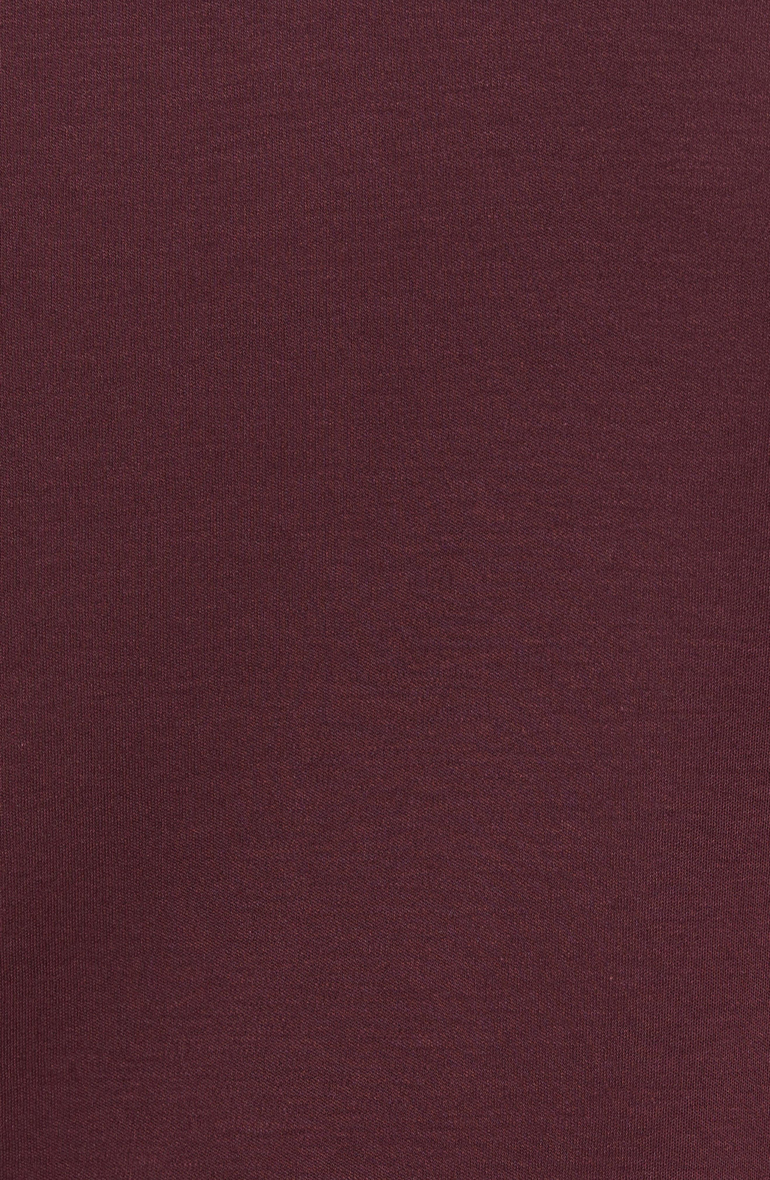 Grindstone Slim Fit Polo,                             Alternate thumbnail 5, color,                             Burgundy
