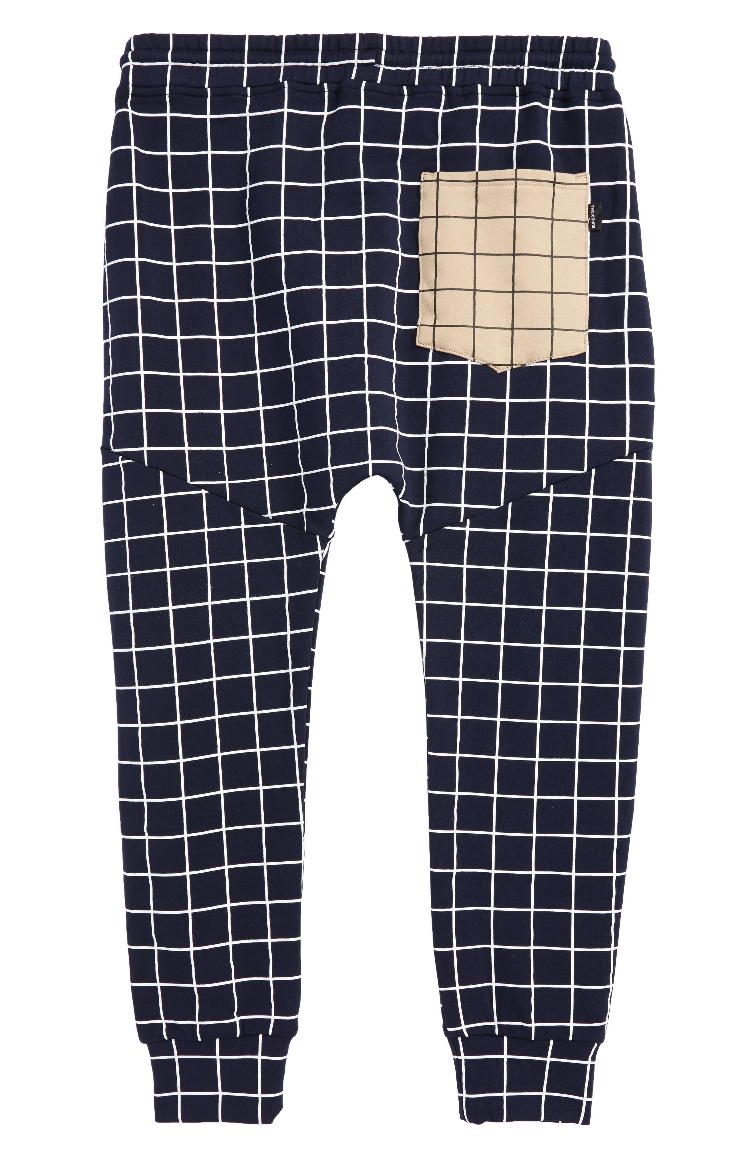 Axel Fleece Jogger Pants,                             Alternate thumbnail 2, color,                             Navy