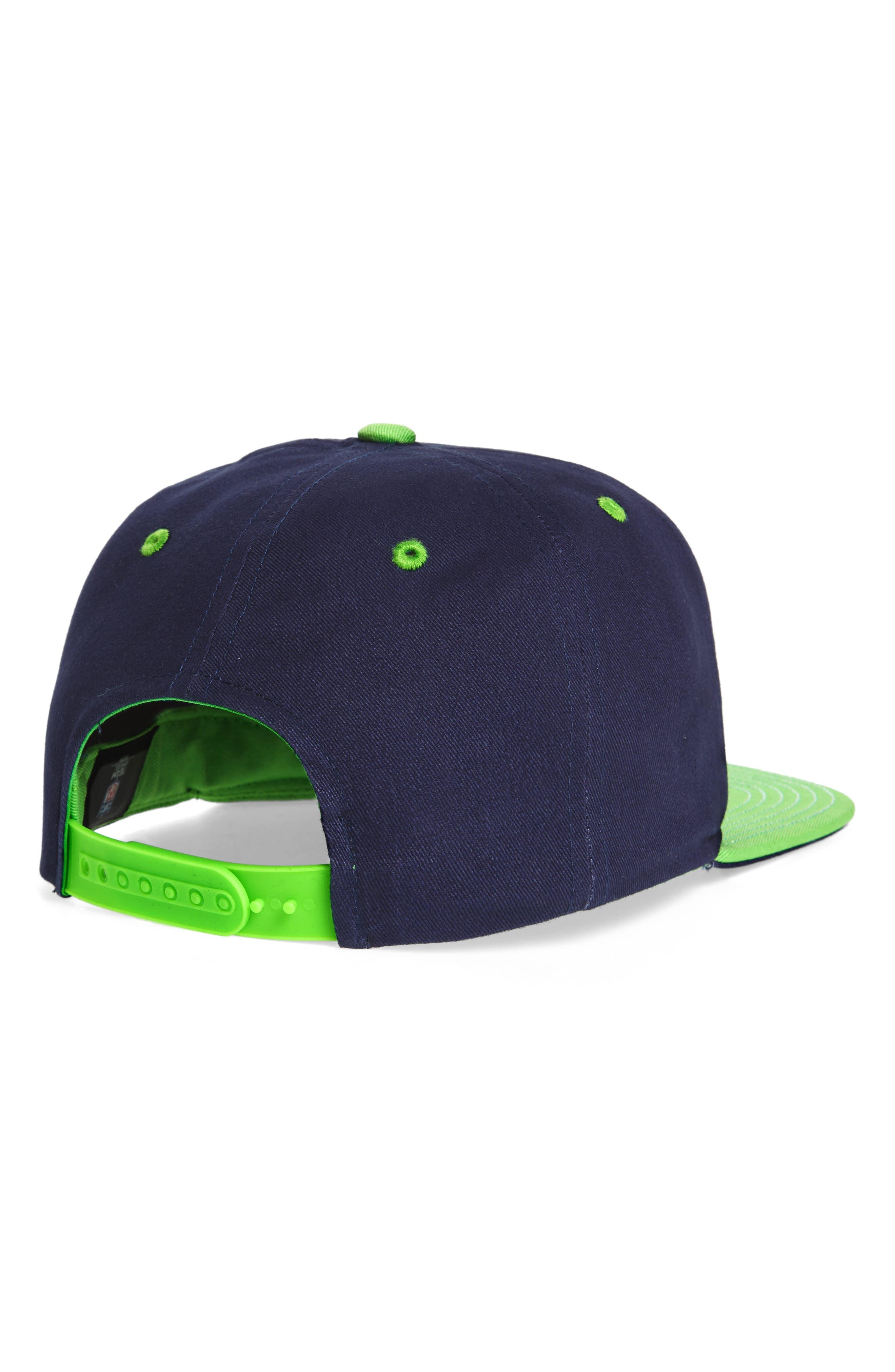 Alternate Image 2  - NFL Logo Retro Bar Baseball Cap (Kids)