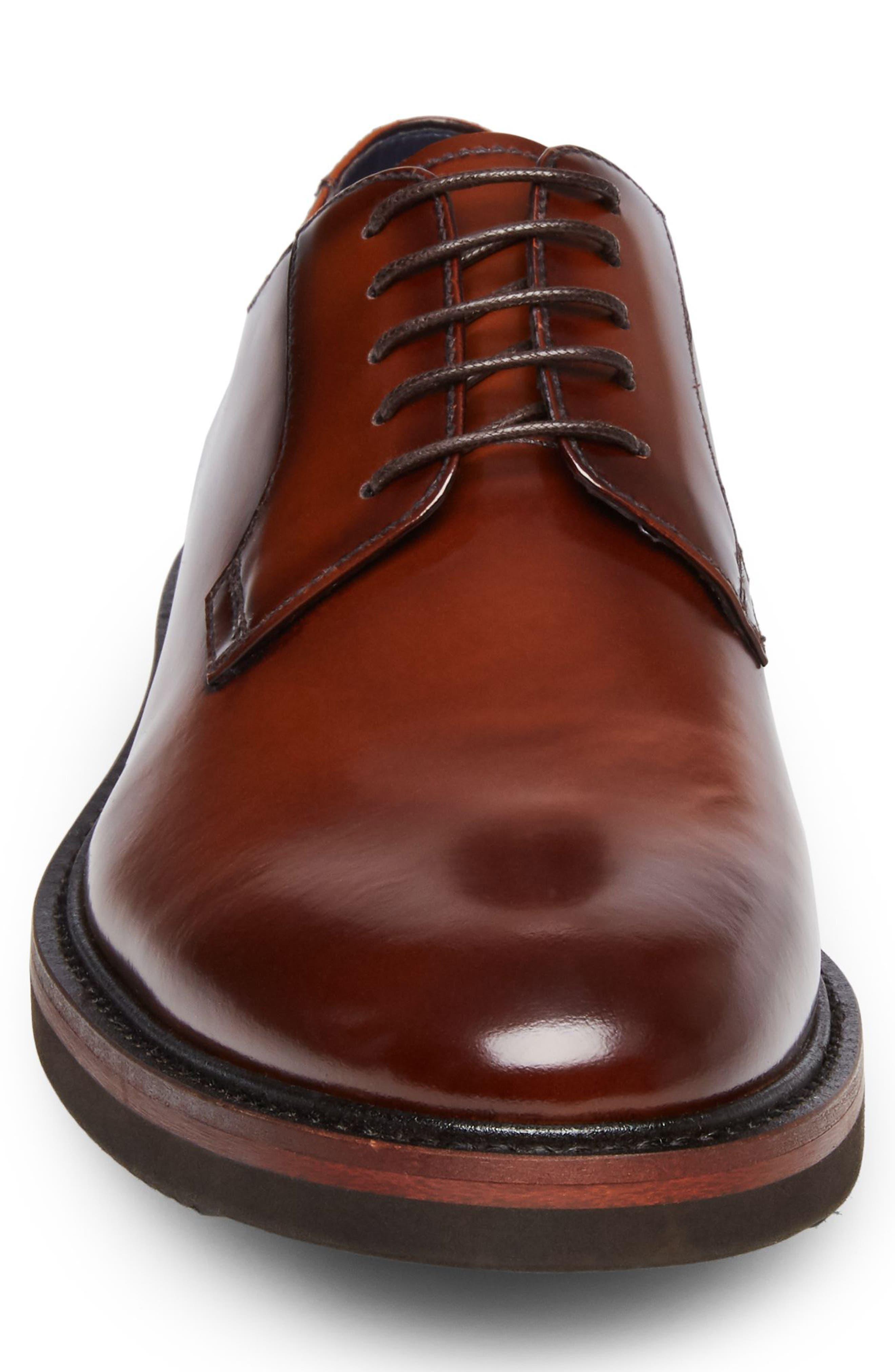 Alternate Image 4  - Steve Madden Drama Plain Toe Derby (Men)