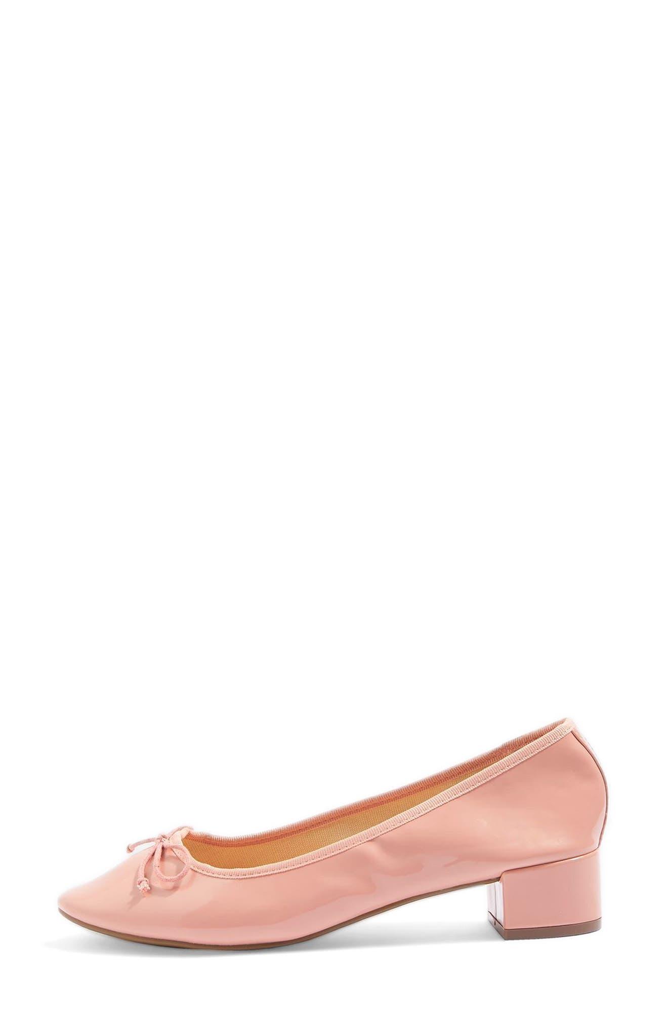 Alternate Image 2  - Topshop Glory Heeled Ballerina Slippers