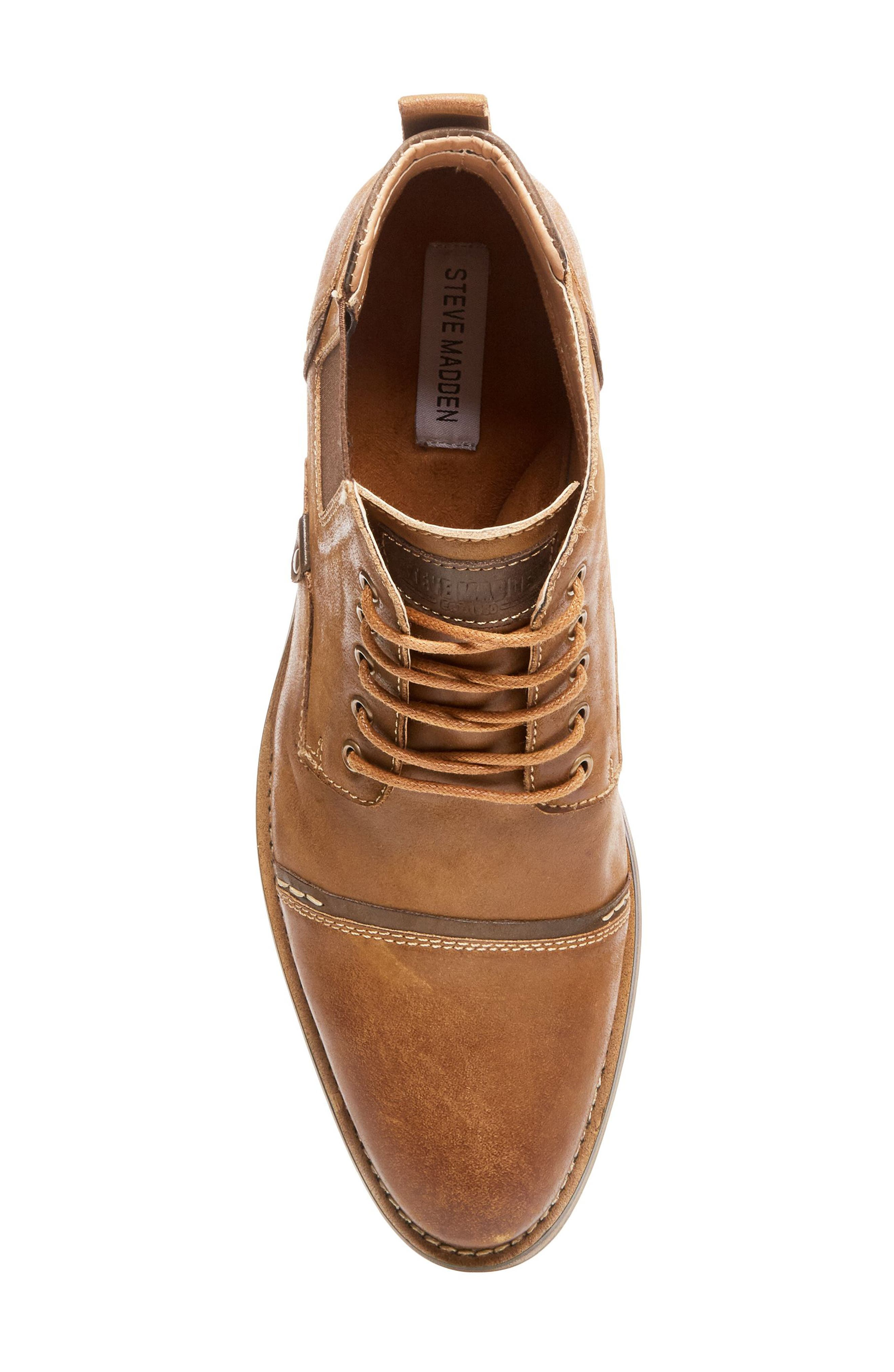 Alternate Image 5  - Steve Madden Proxy Cap Toe Boot (Men)