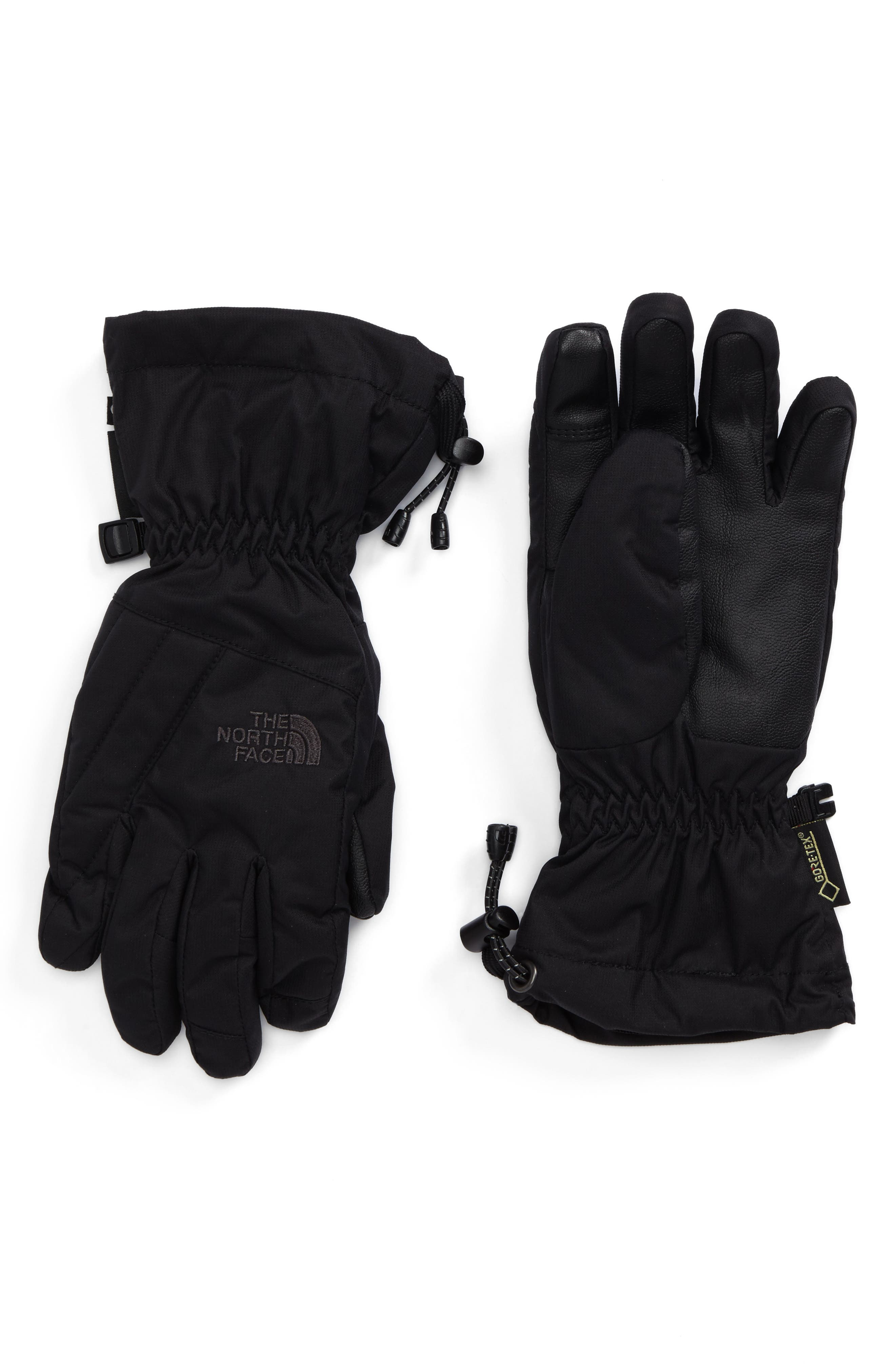 Montana Gore-Tex<sup>®</sup> Gloves,                         Main,                         color, Tnf Black