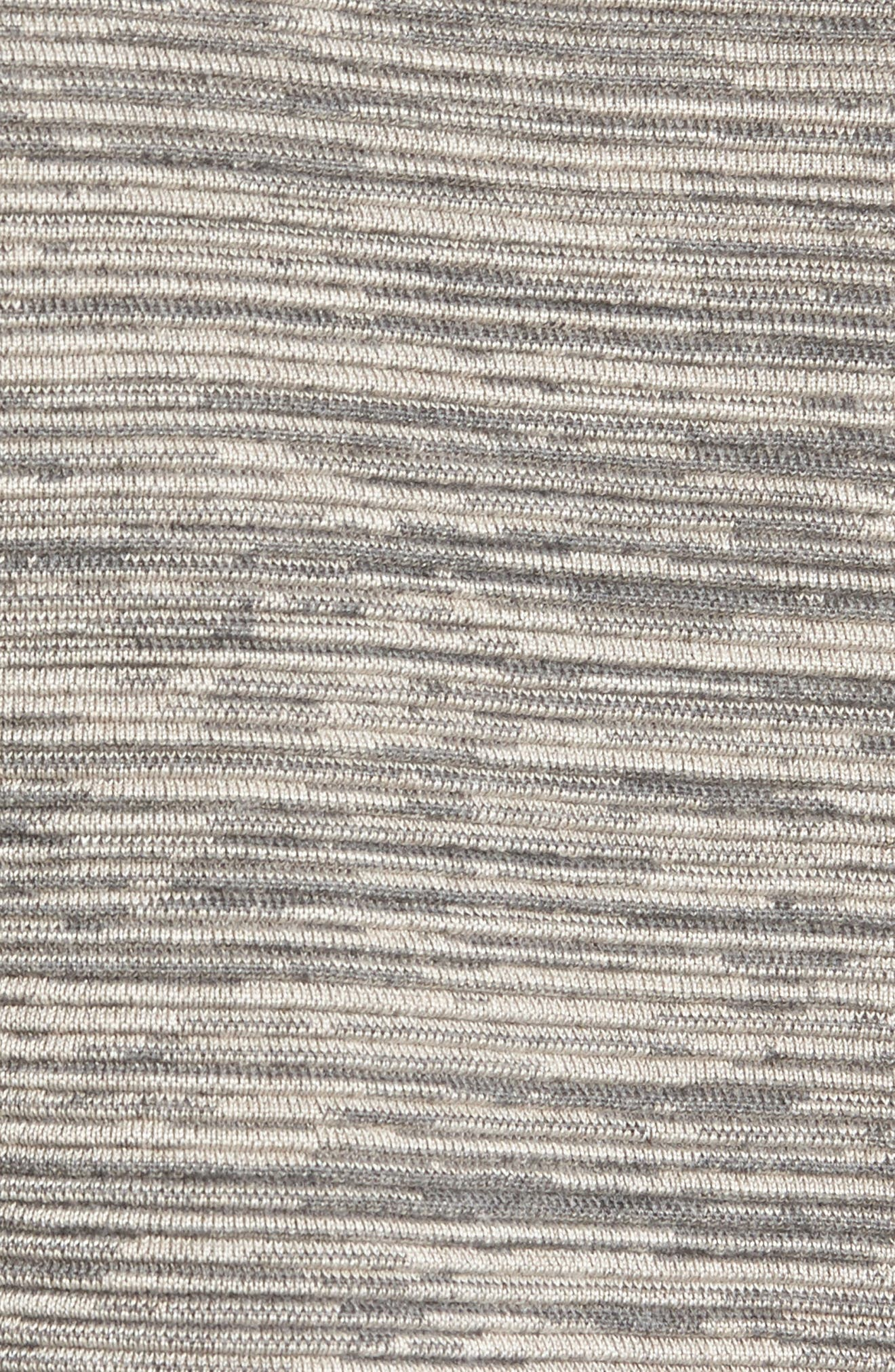 Tencel<sup>®</sup> & Organic Cotton Sweater,                             Alternate thumbnail 5, color,                             Maple Oat