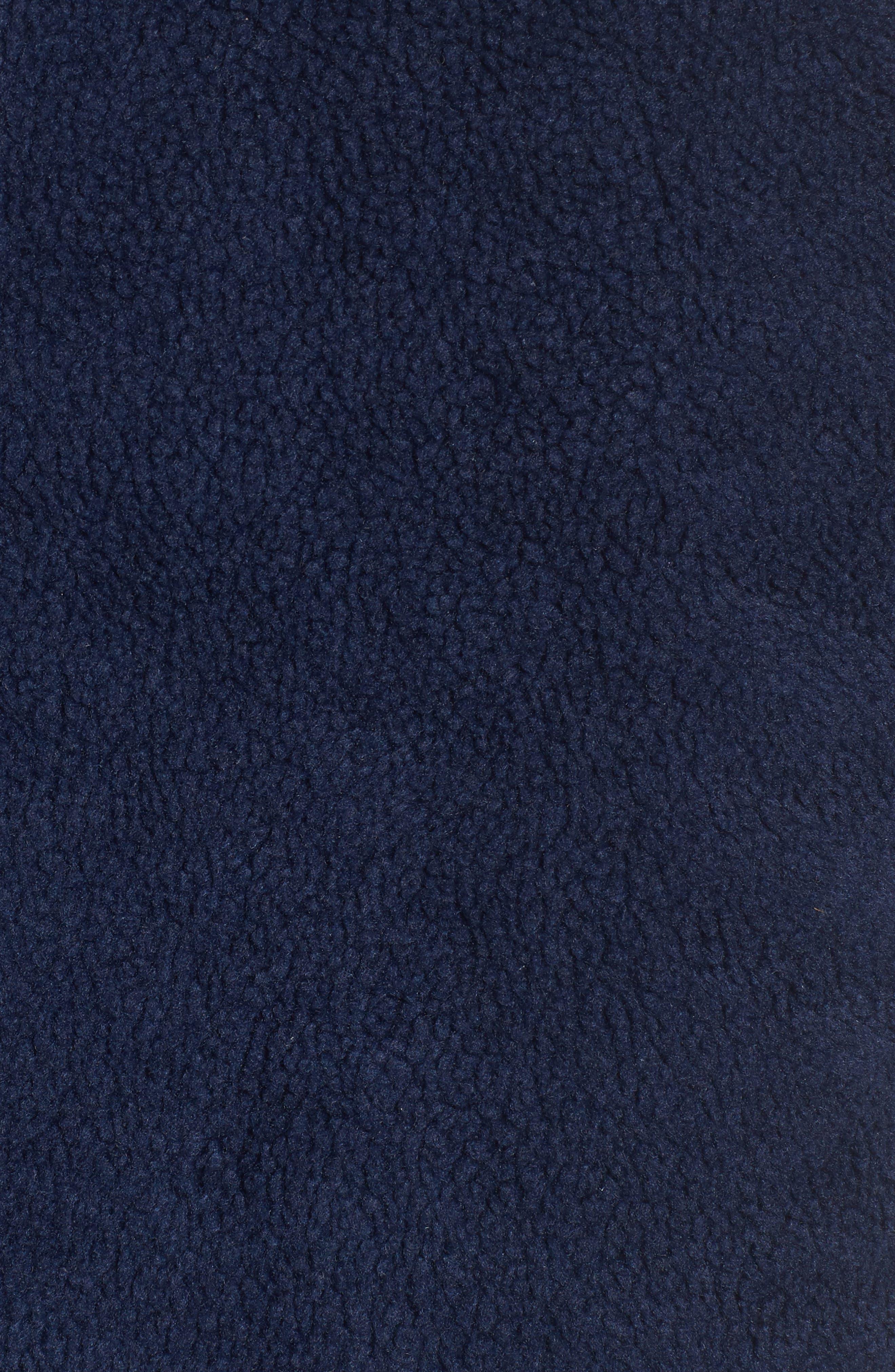 Reversible Quilted Plaid Vest,                             Alternate thumbnail 5, color,                             Deep Bay