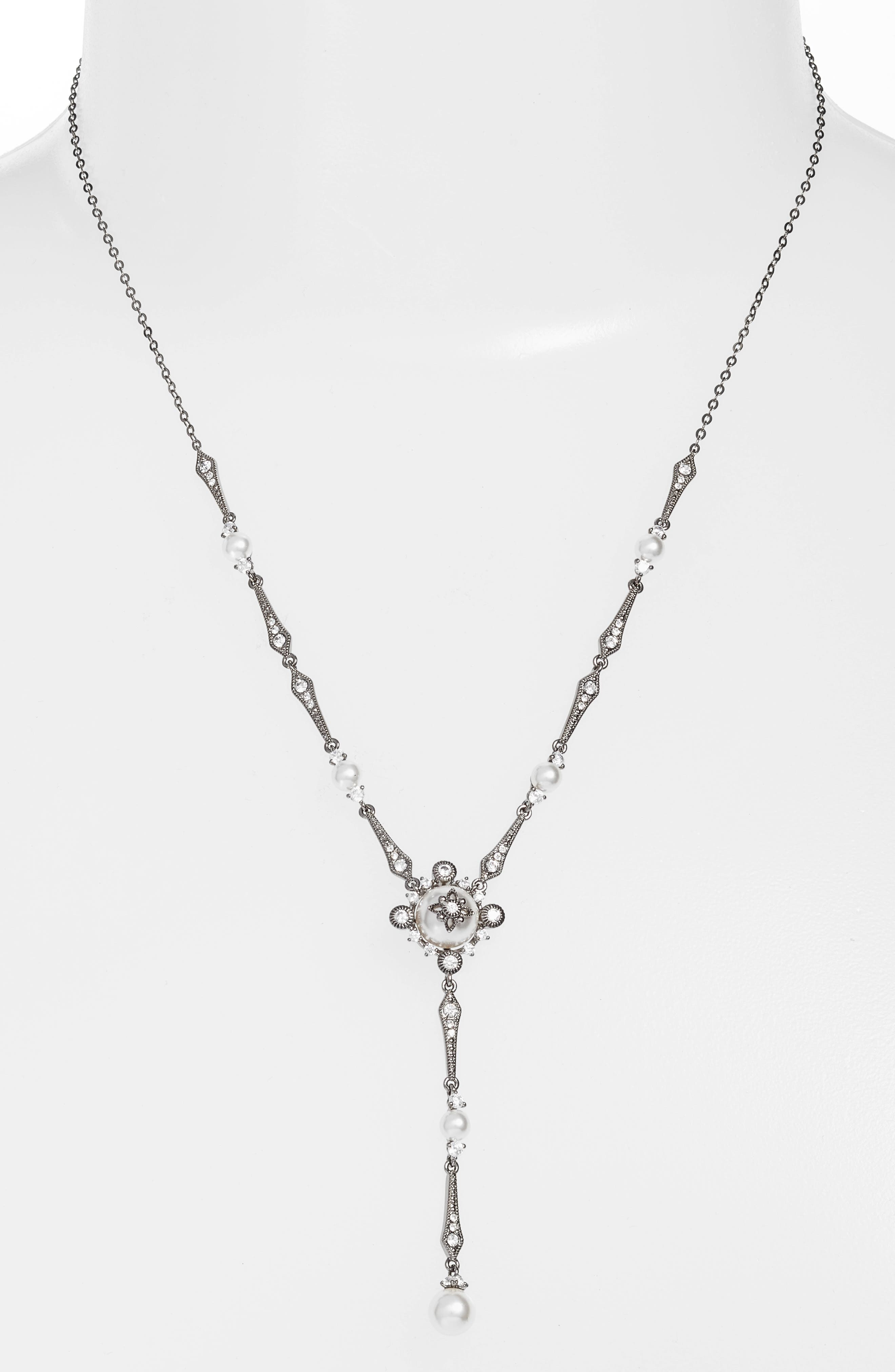 Alternate Image 1 Selected - Nadri Crystal Y-Necklace