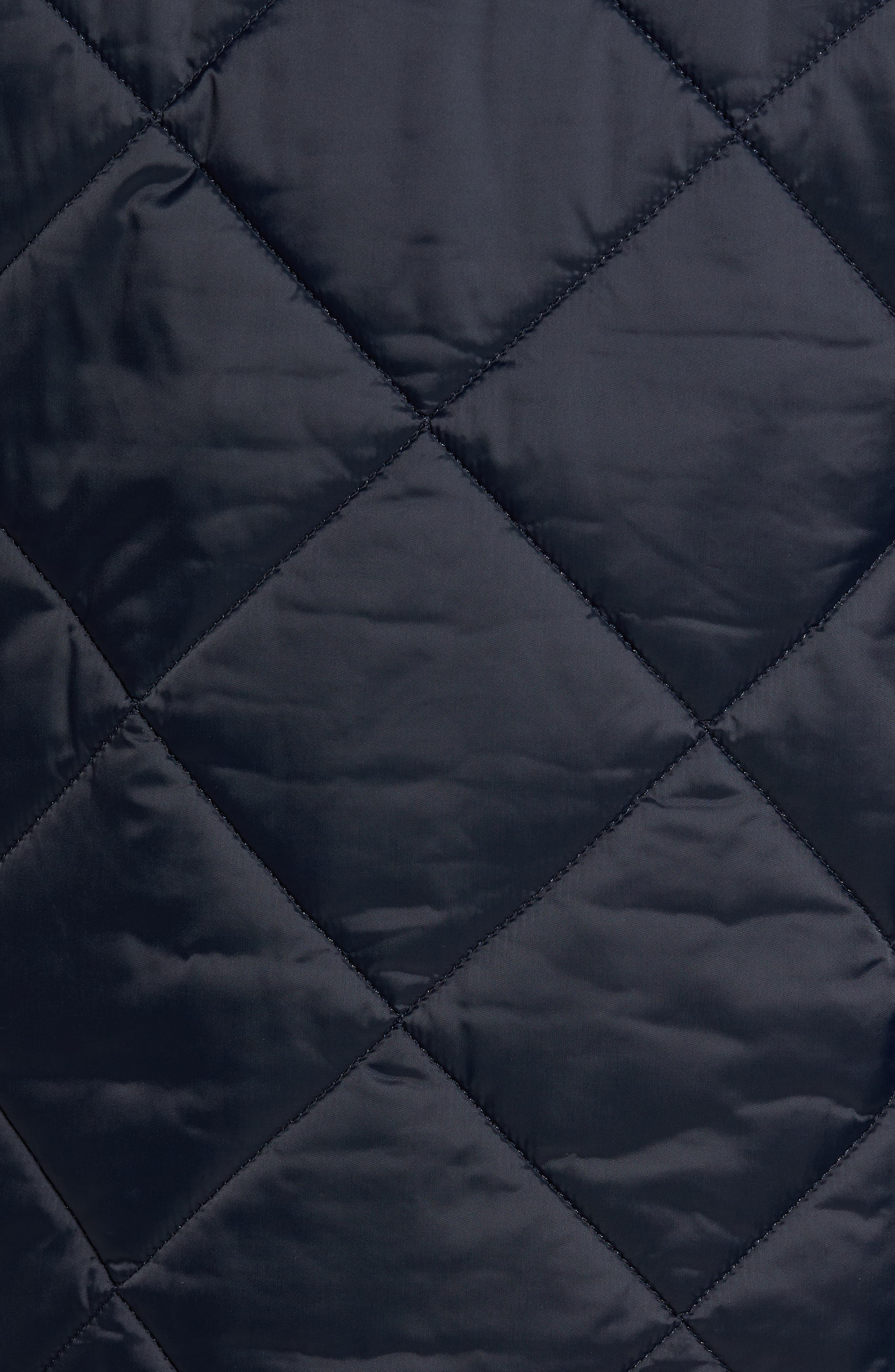 International Gabion Quilted Jacket,                             Alternate thumbnail 5, color,                             Navy