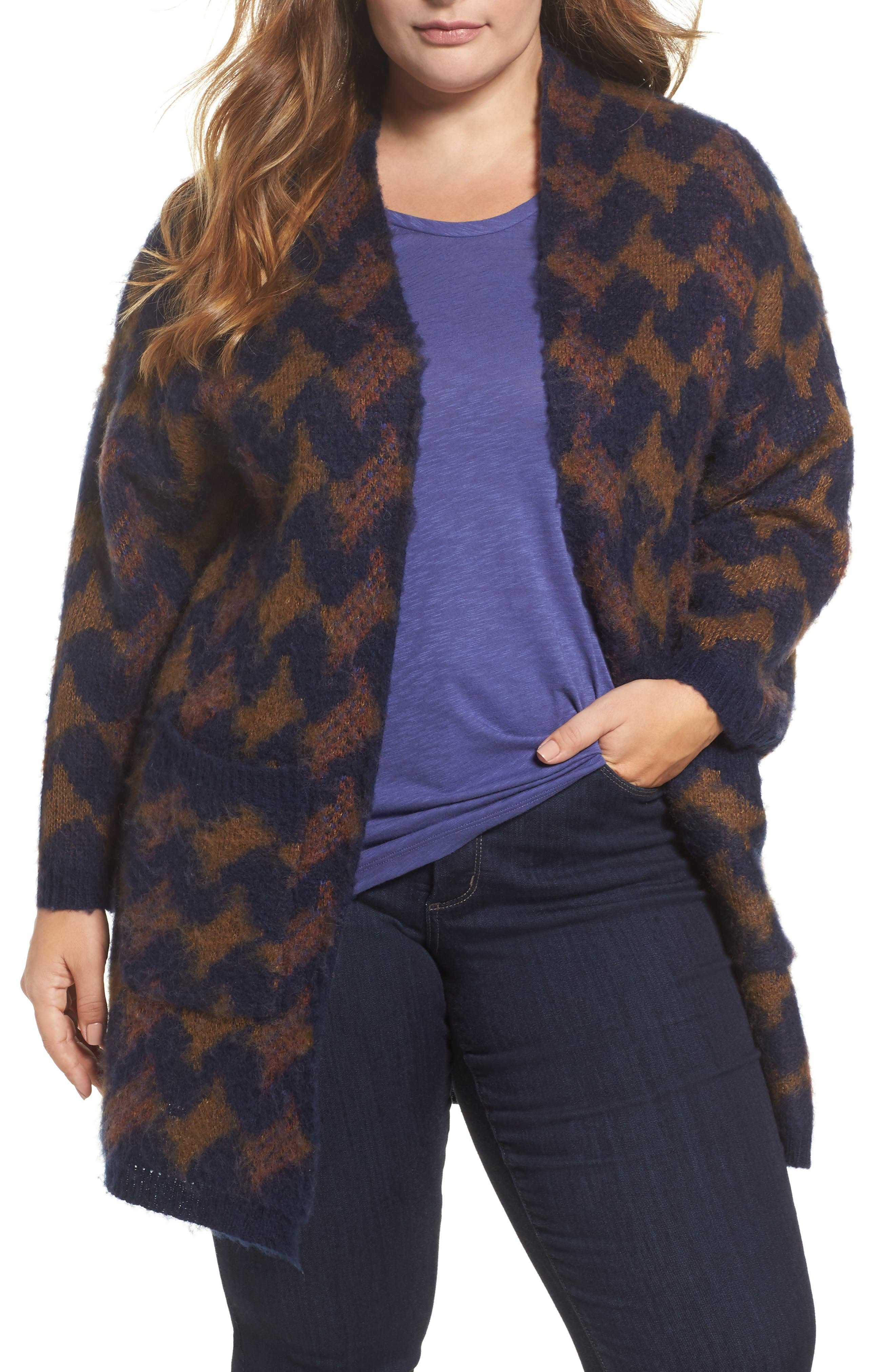 Lucky Brand Iona Cardigan (Plus Size)