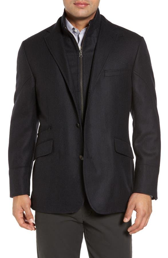 Kroon Ritchie Aim Hybrid Classic Fit Wool & Cashmere Sport Coat ...
