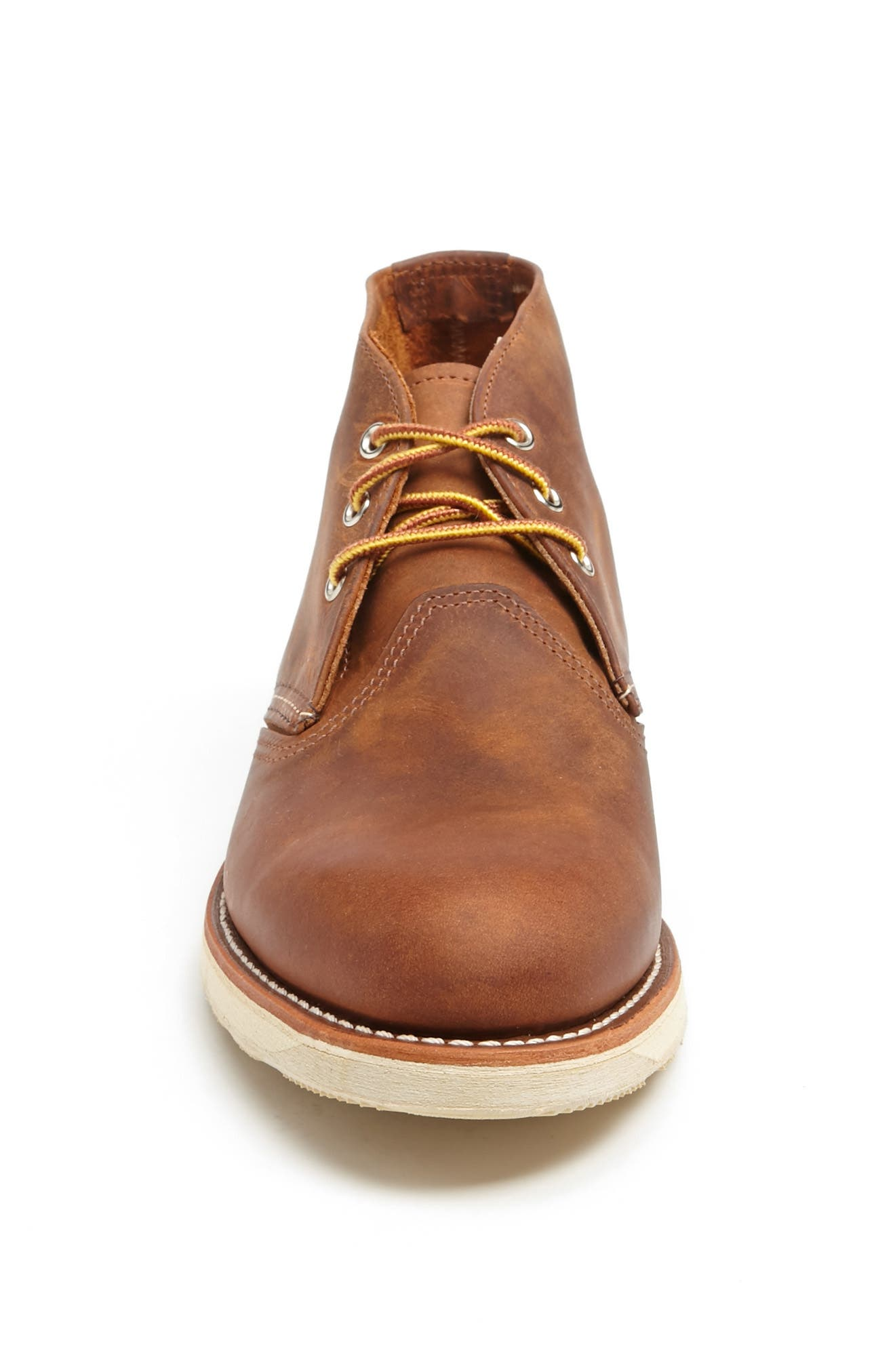 'Classic' Chukka Boot,                             Alternate thumbnail 3, color,                             Copper