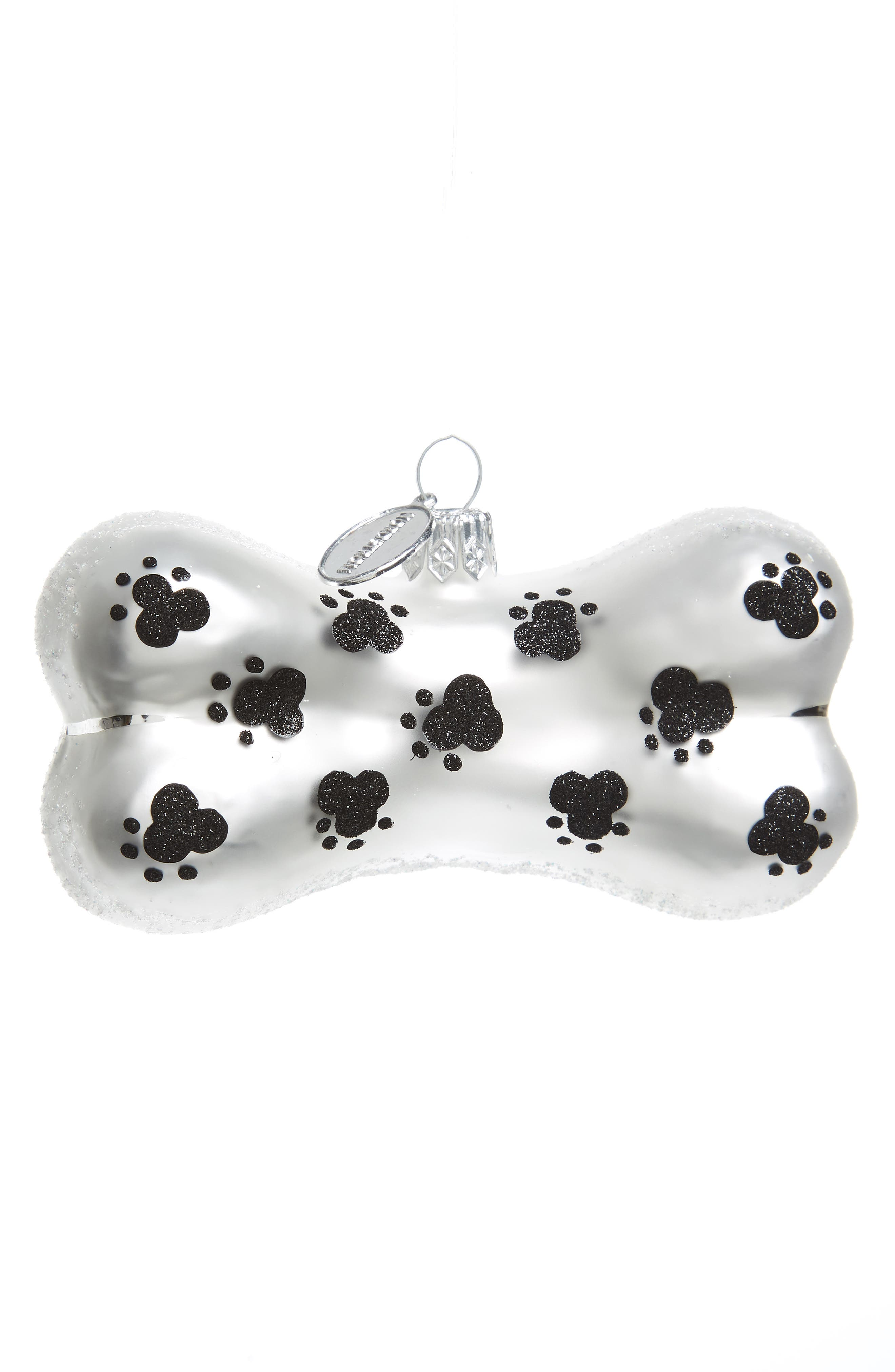 Main Image - Nordstrom at Home Dog Glass Ornament