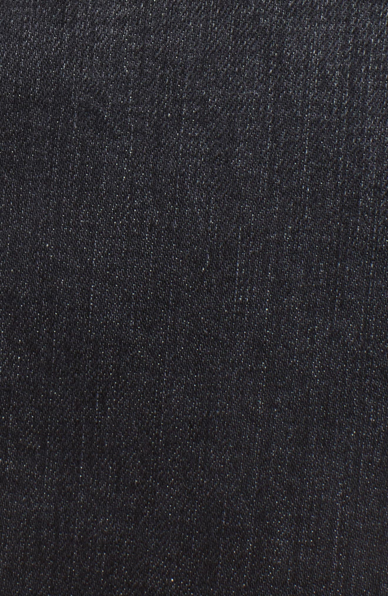 Alternate Image 5  - 7 For All Mankind® Denim Miniskirt