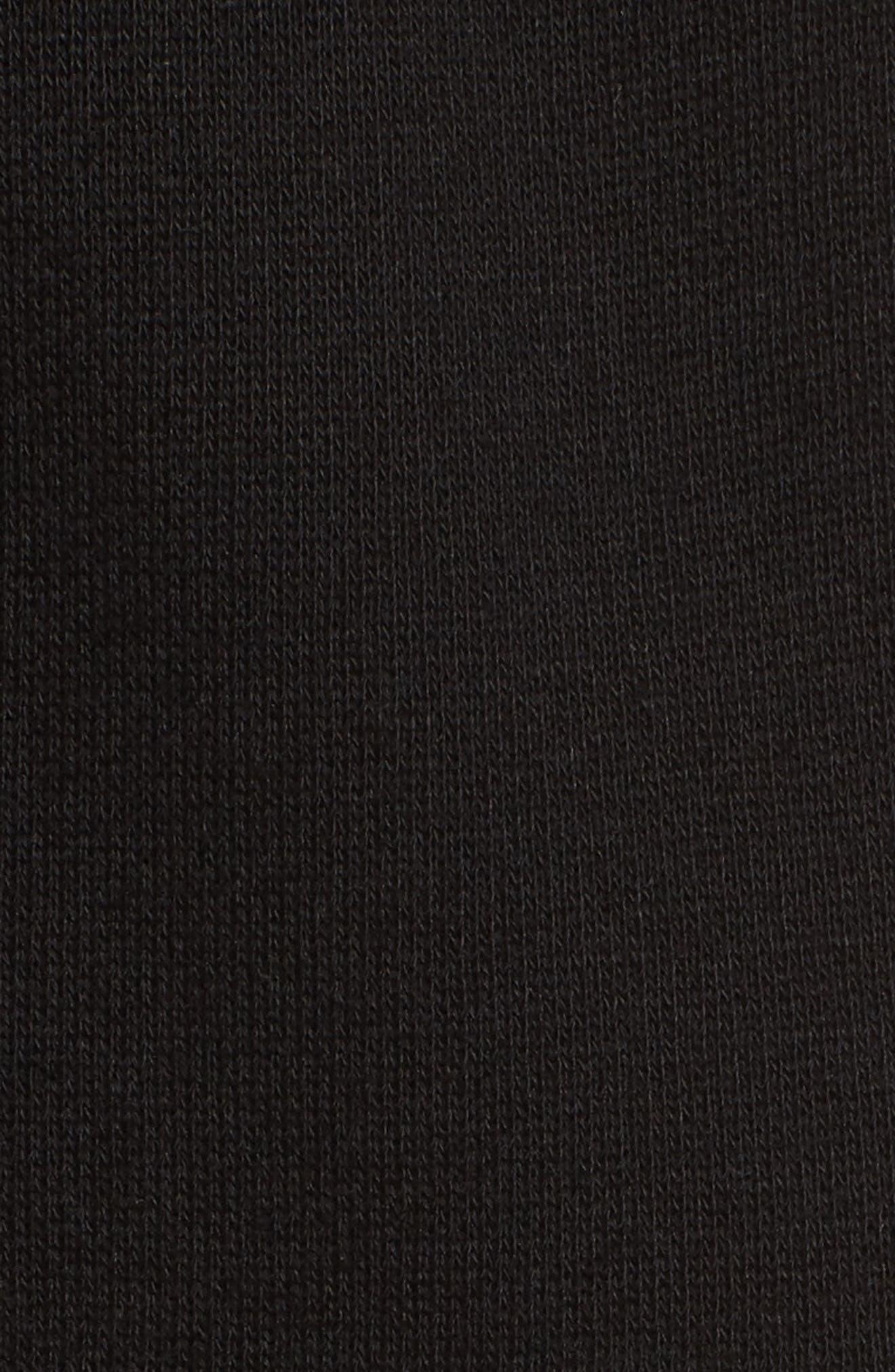 Terry Lounge Pants,                             Alternate thumbnail 6, color,                             Black