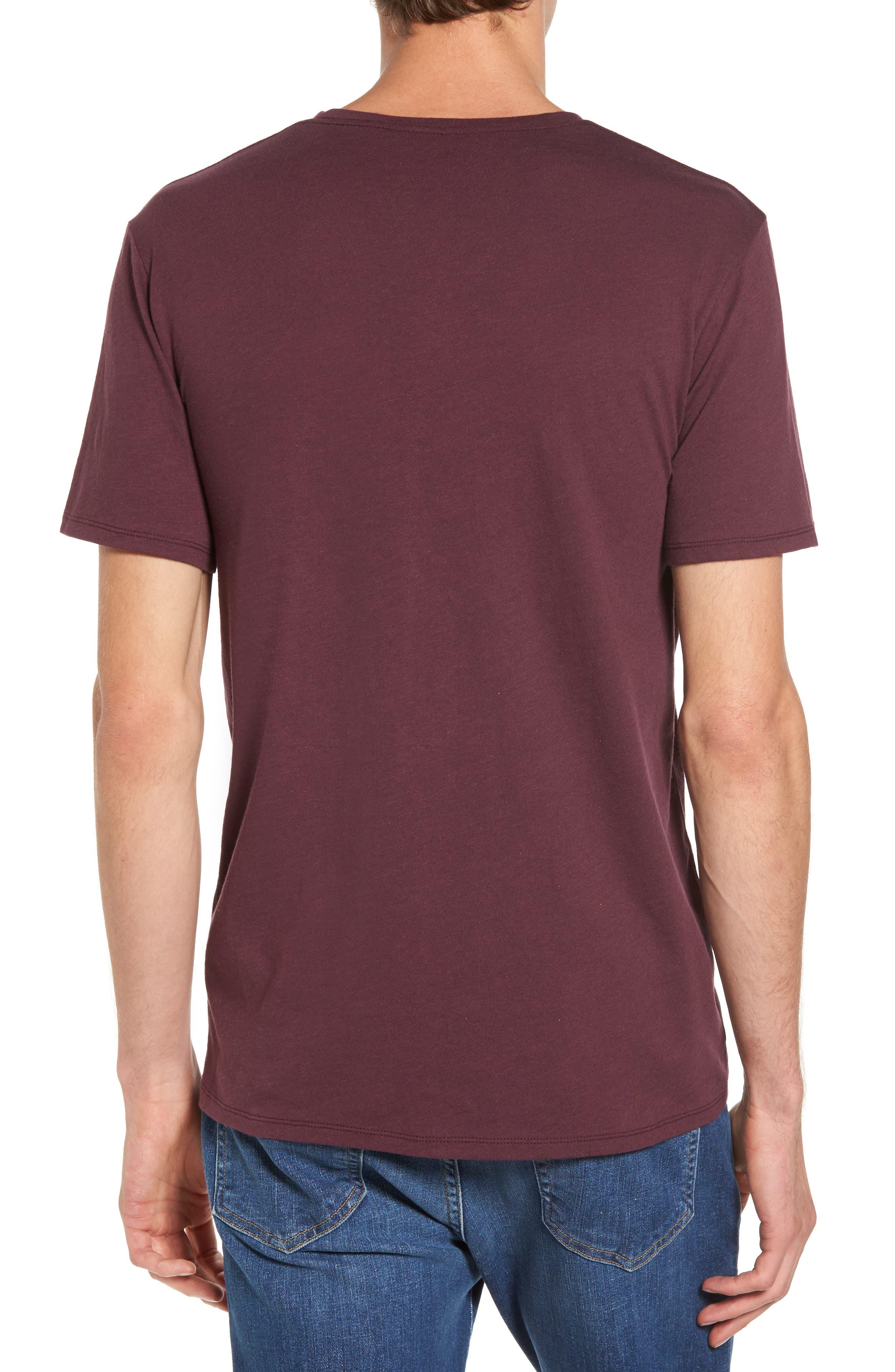 Alternate Image 2  - The Rail Slub Cotton V-Neck T-Shirt (2 for $30)