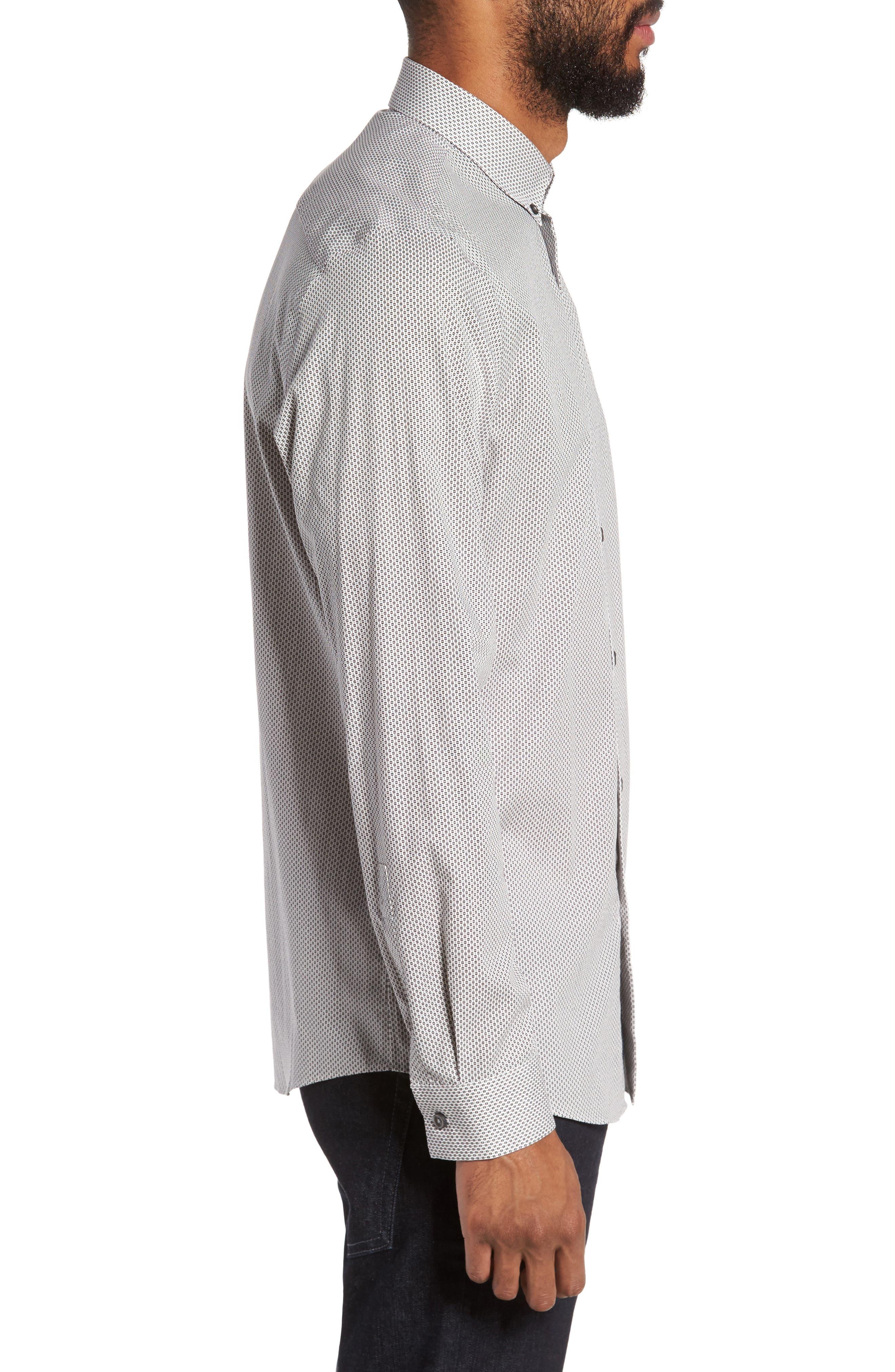 Alternate Image 3  - Calibrate Trim Fit Print Sport Shirt